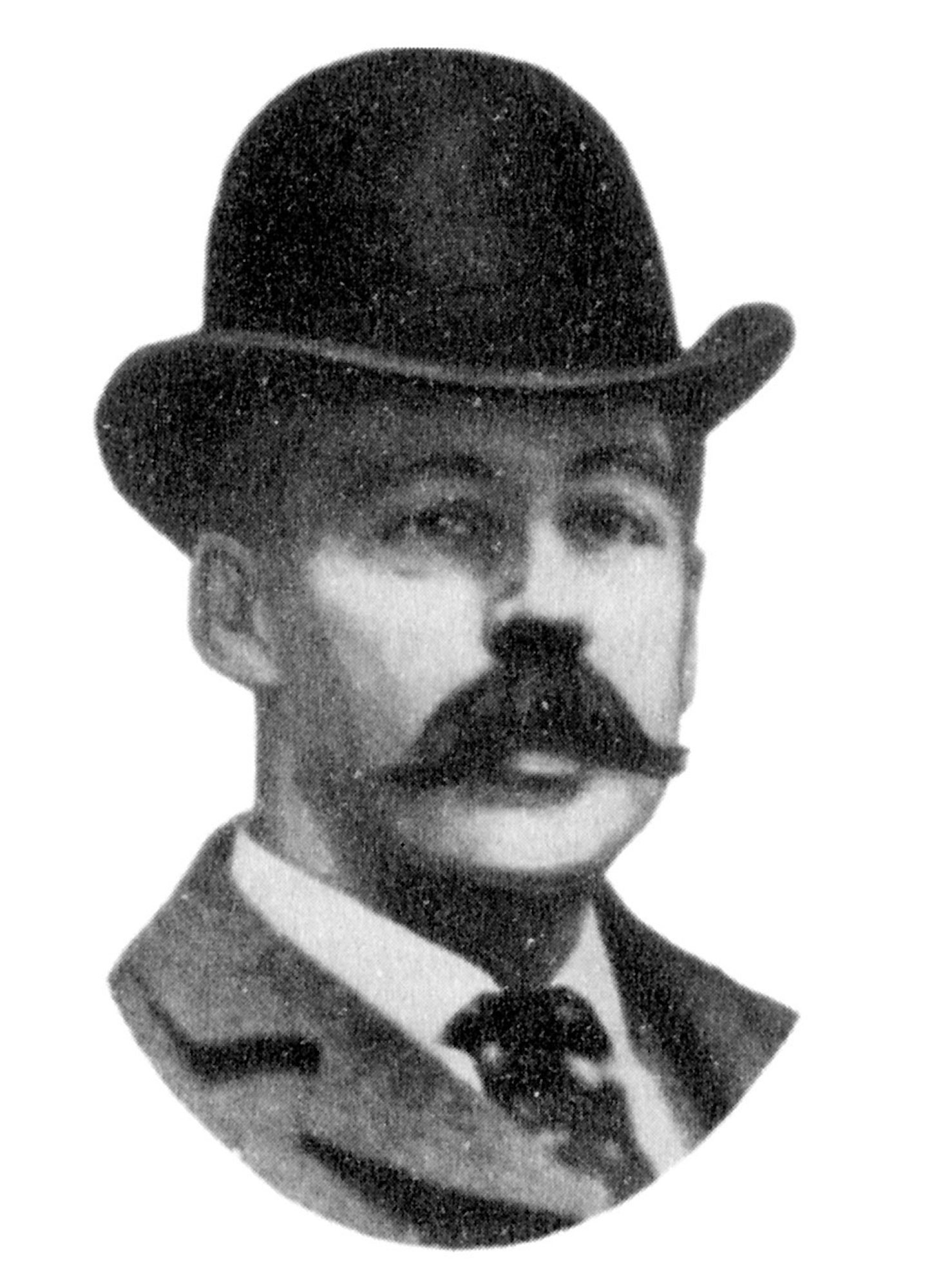 Dr. H.H. Holmes, the pseudonym of New Hampshire-born physician Herman Webster Mudgett, shown in an undated photo, is believed by many authorities to have been America's first urban serial killer.