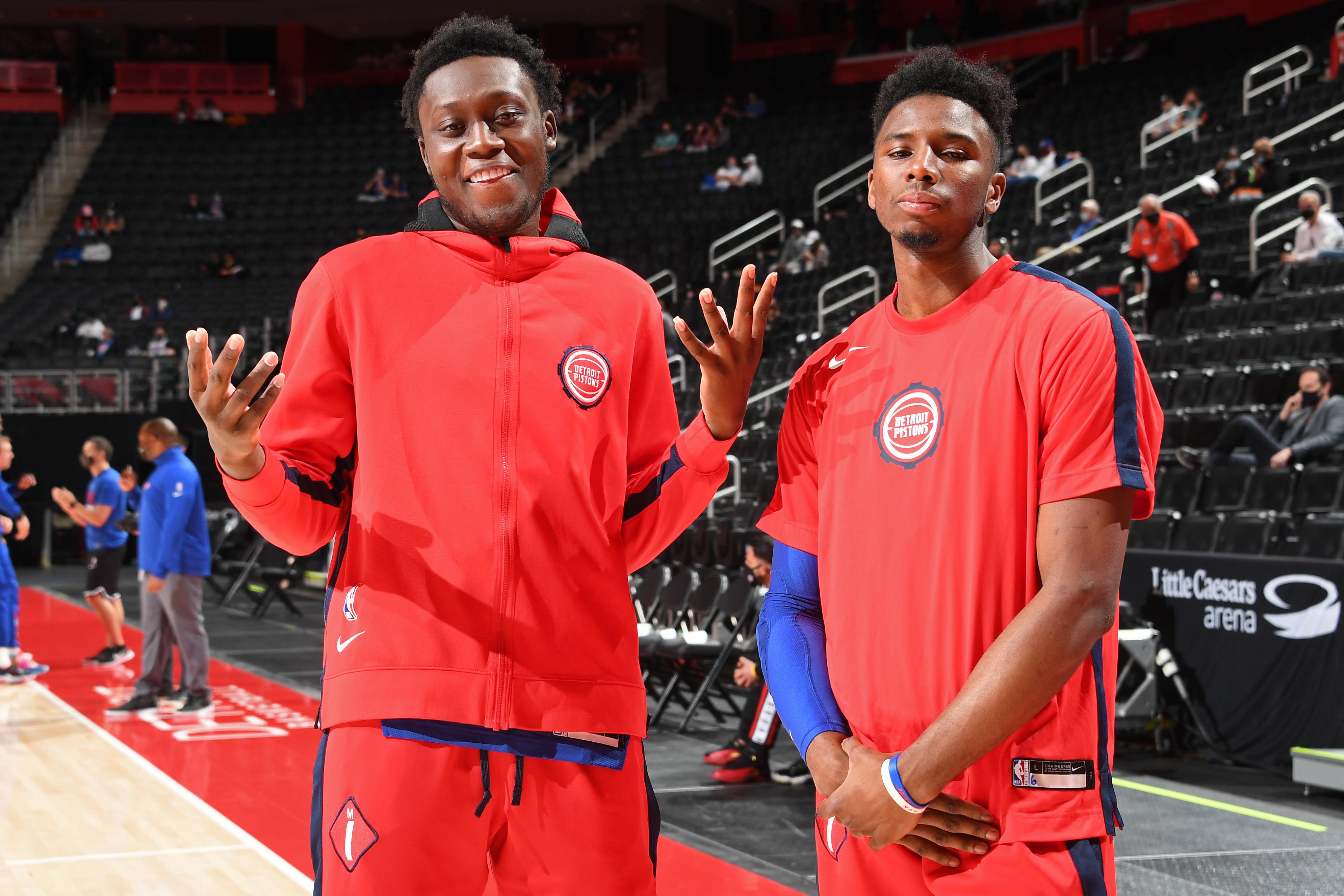 LA Clippers v Detroit Pistons