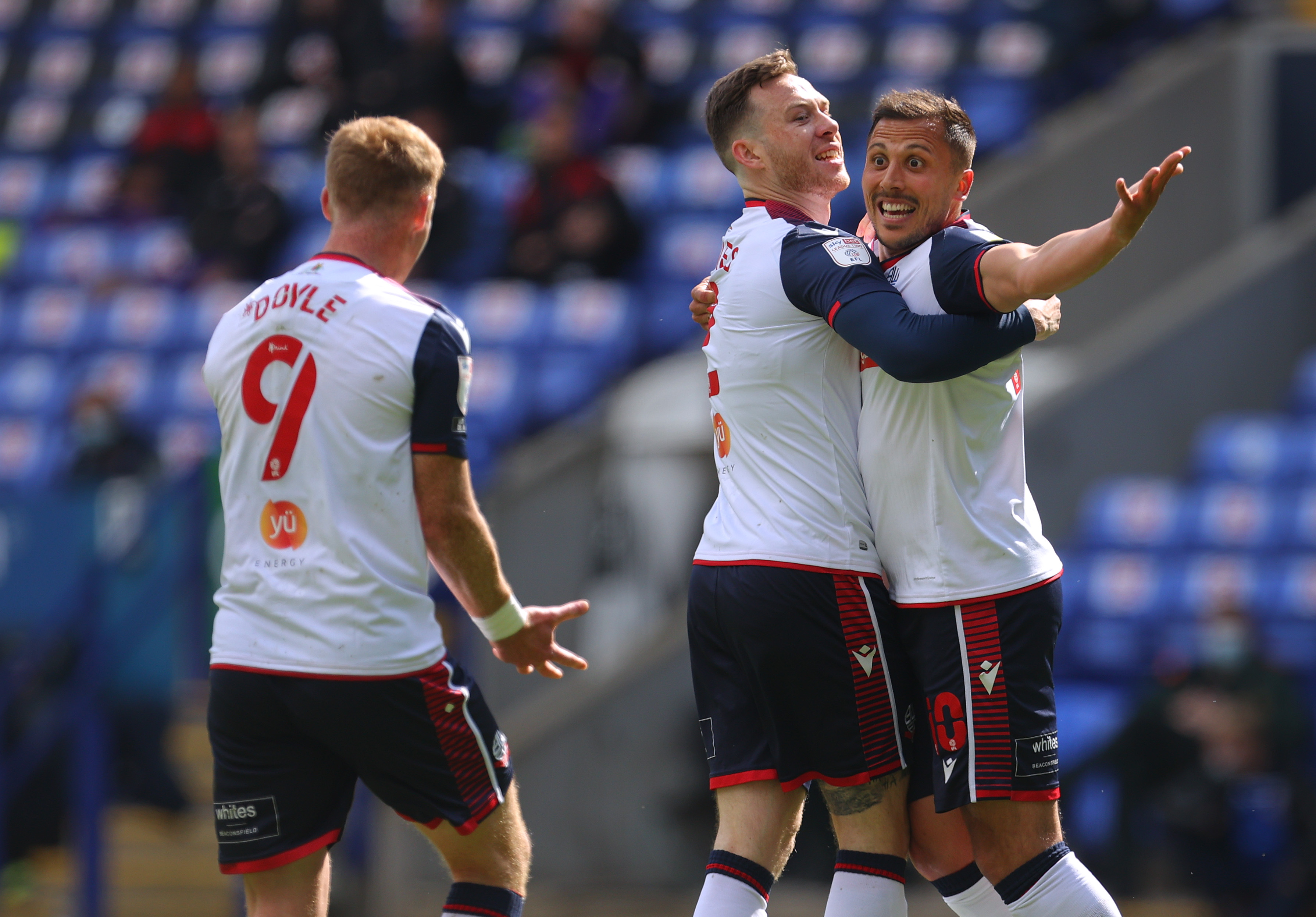 Bolton Wanderers v Exeter City - Sky Bet League Two