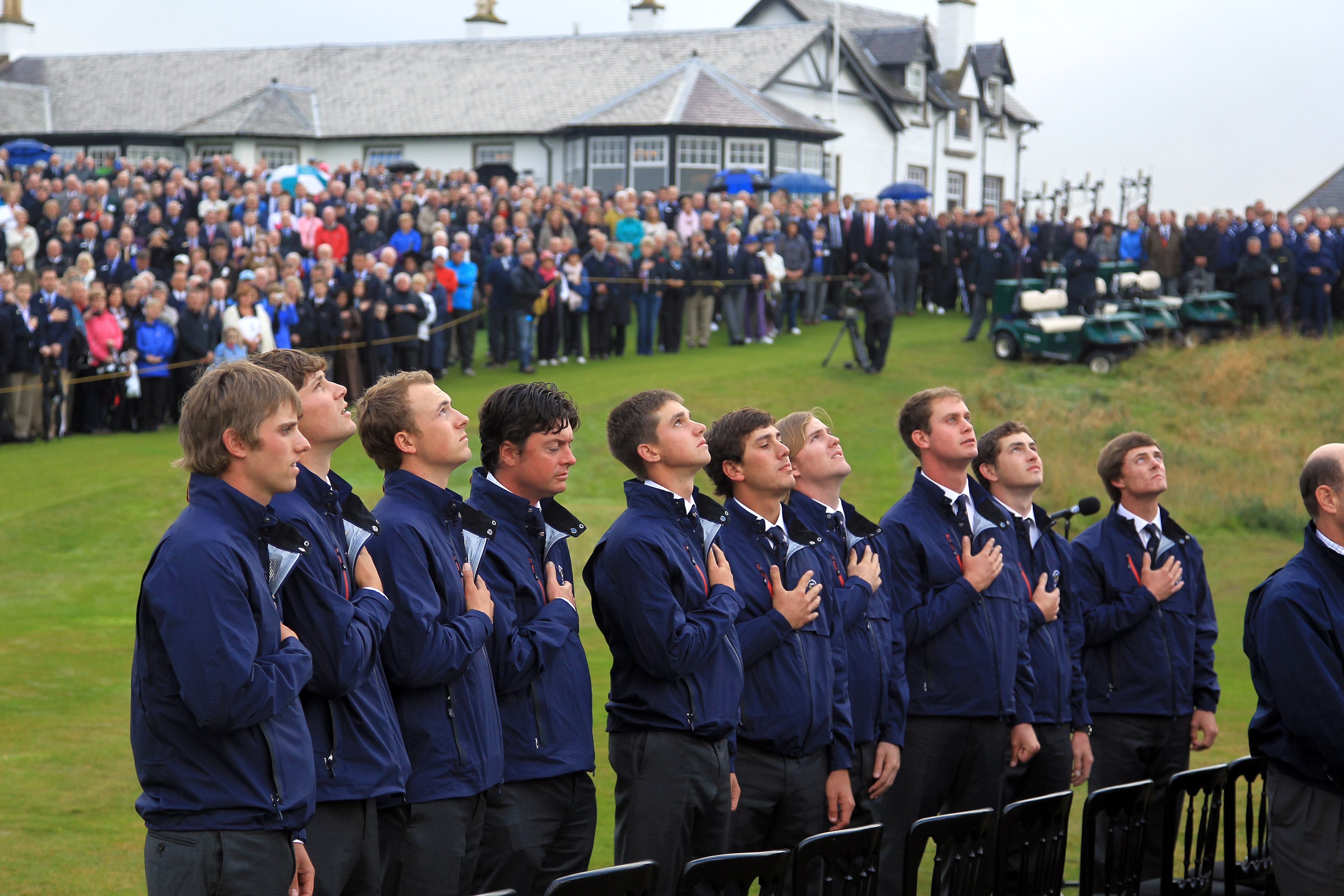2011 Walker Cup - Opening Ceremony
