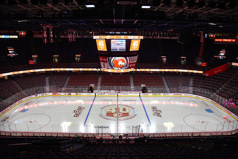 NHL: OCT 05 Canucks at Flames