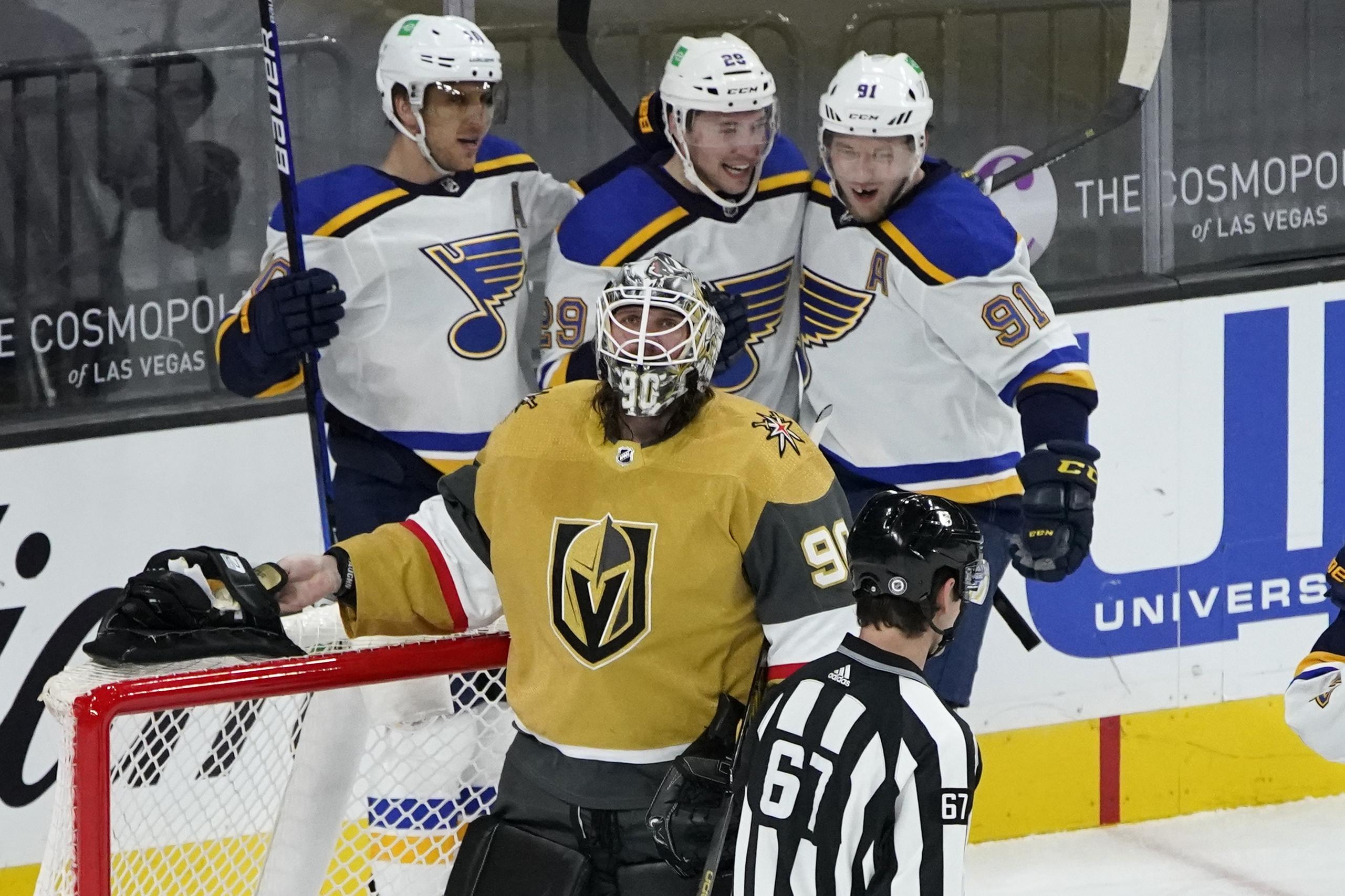 NHL: St. Louis Blues at Vegas