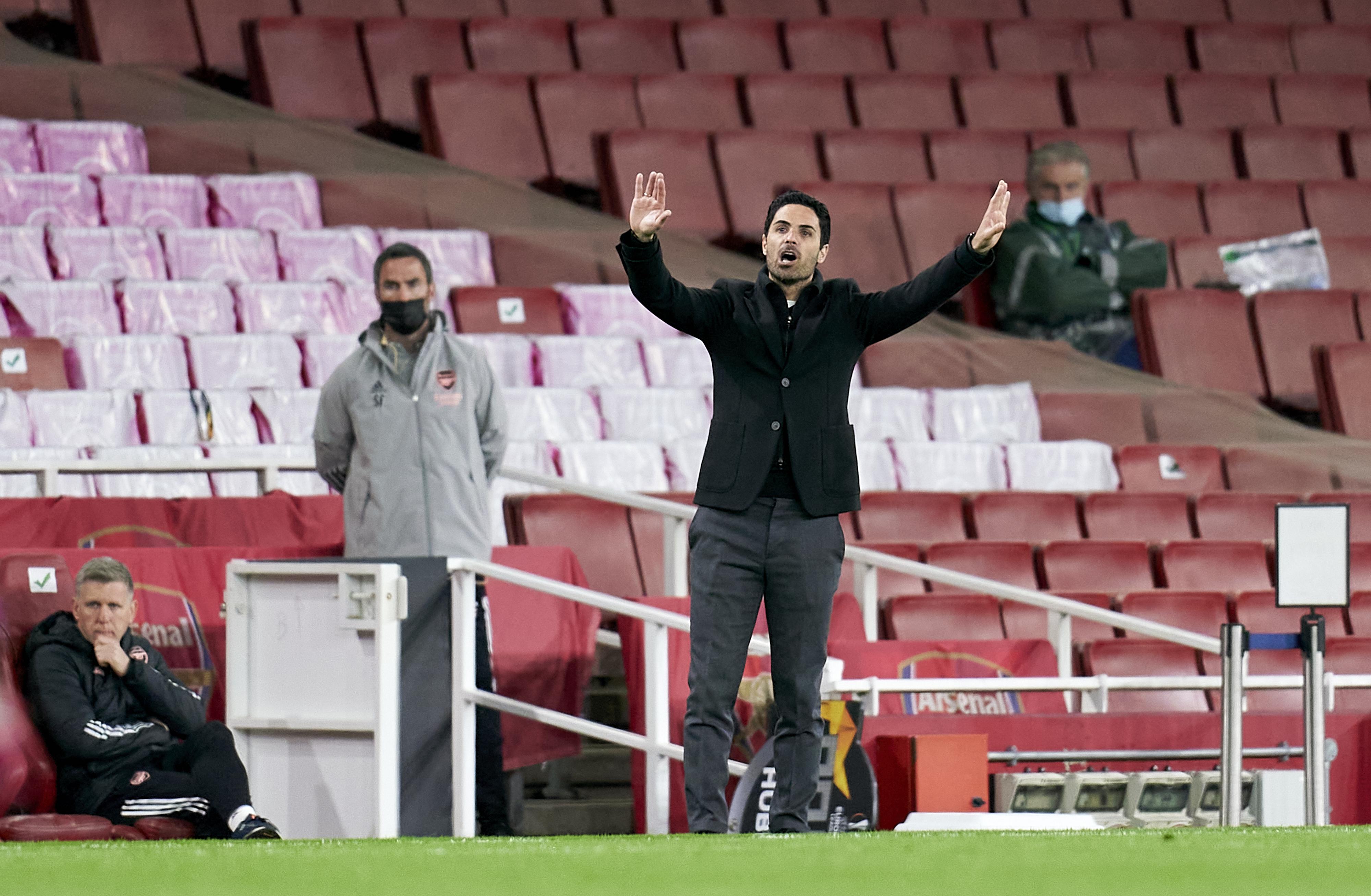 Mikel Arteta - Arsenal - Premier League