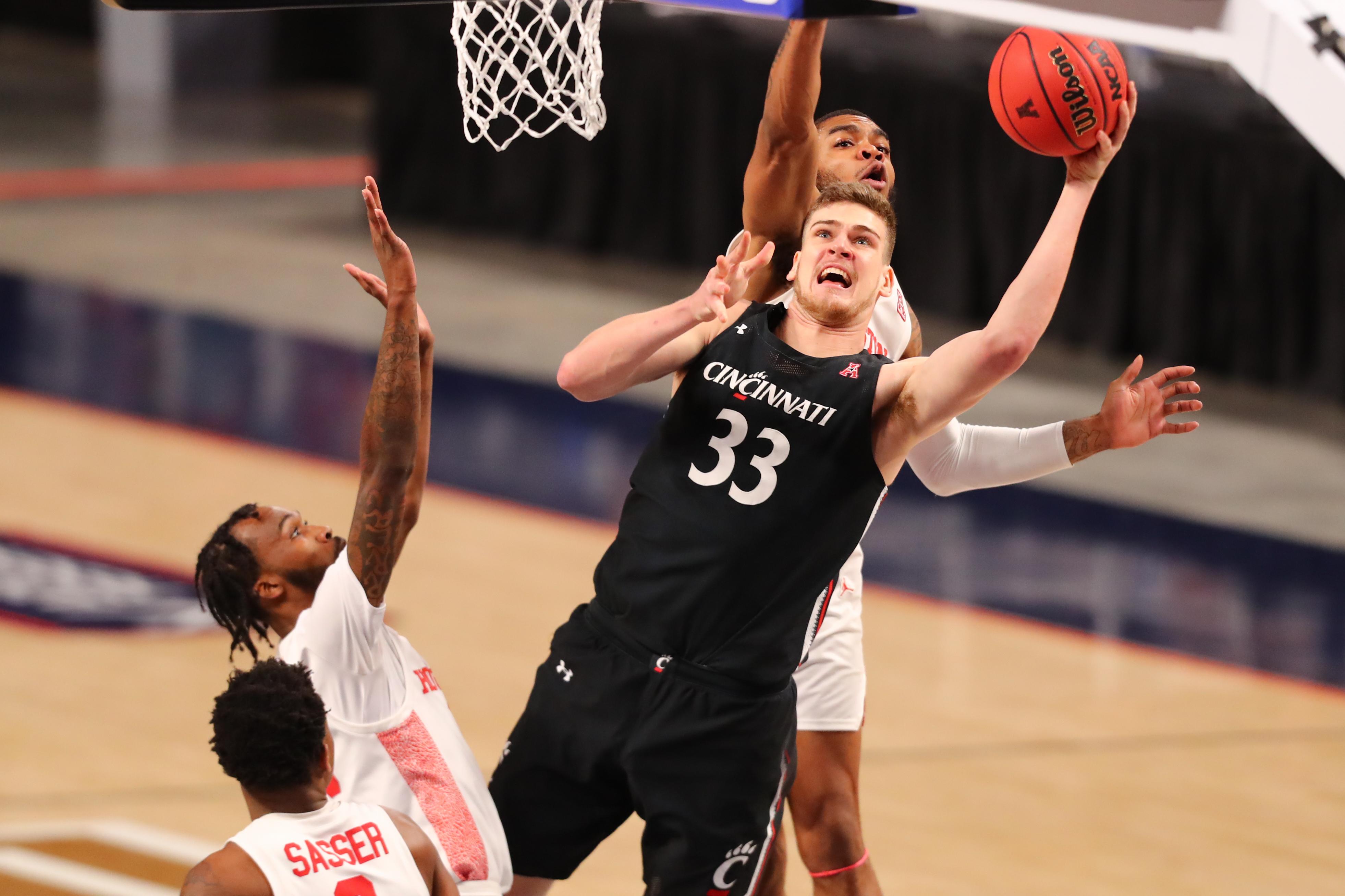 NCAA Basketball: AAC Conference Tournament-Houston vs Cincinnati