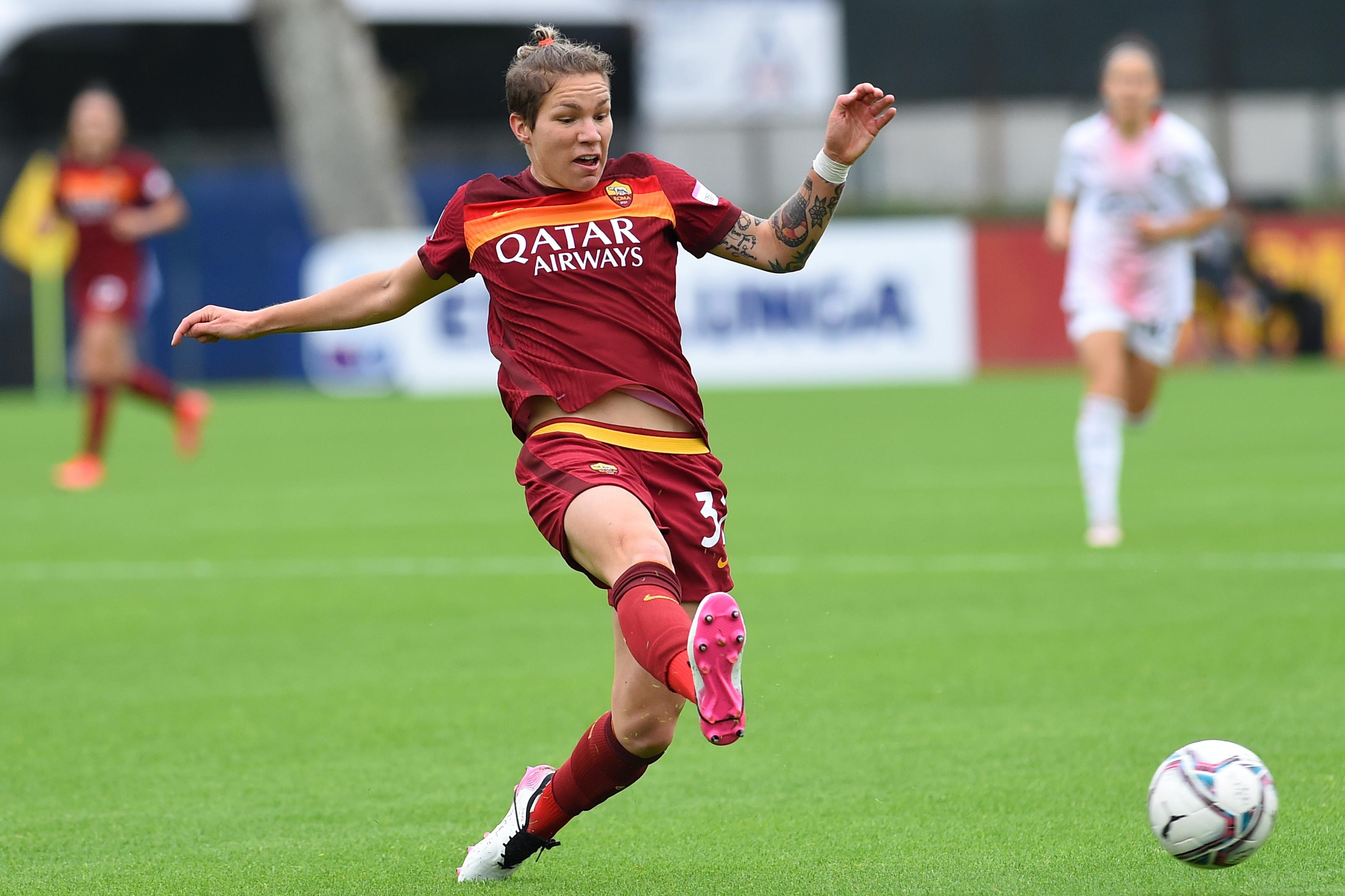 Football Serie A woman AS Roma woman-AC Milan woman