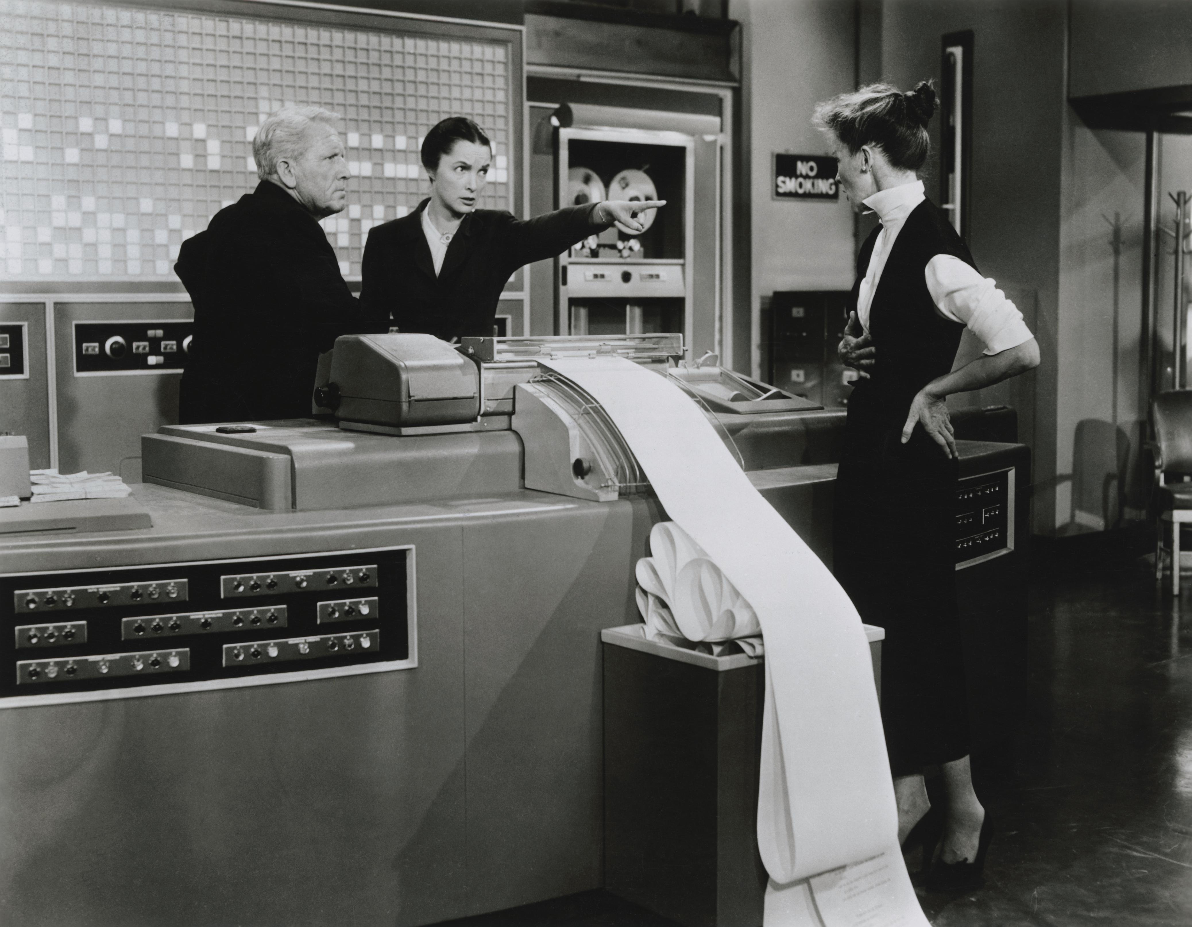 Scene from Desk Set