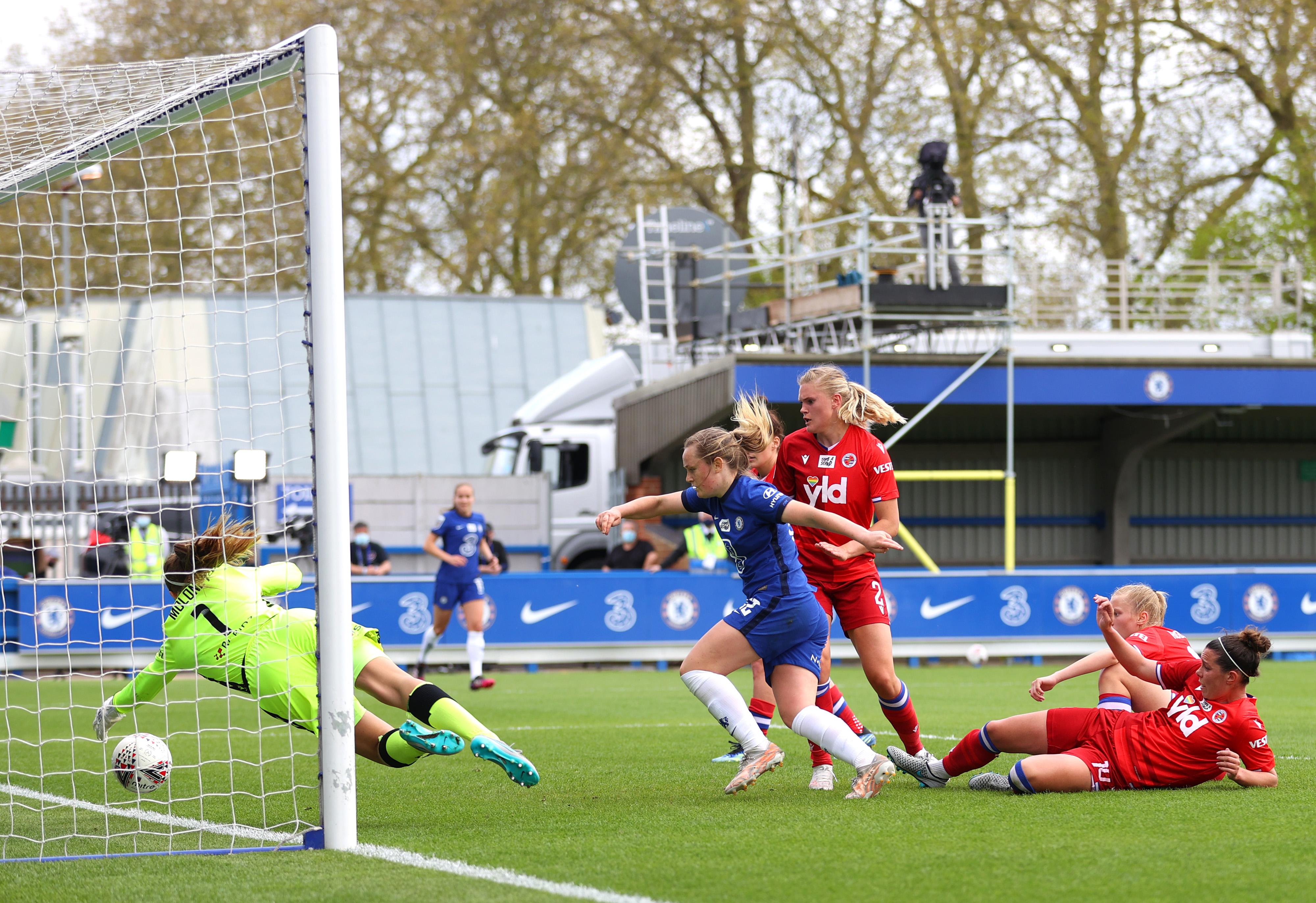 Chelsea Women v Reading Women - Barclays FA Women's Super League