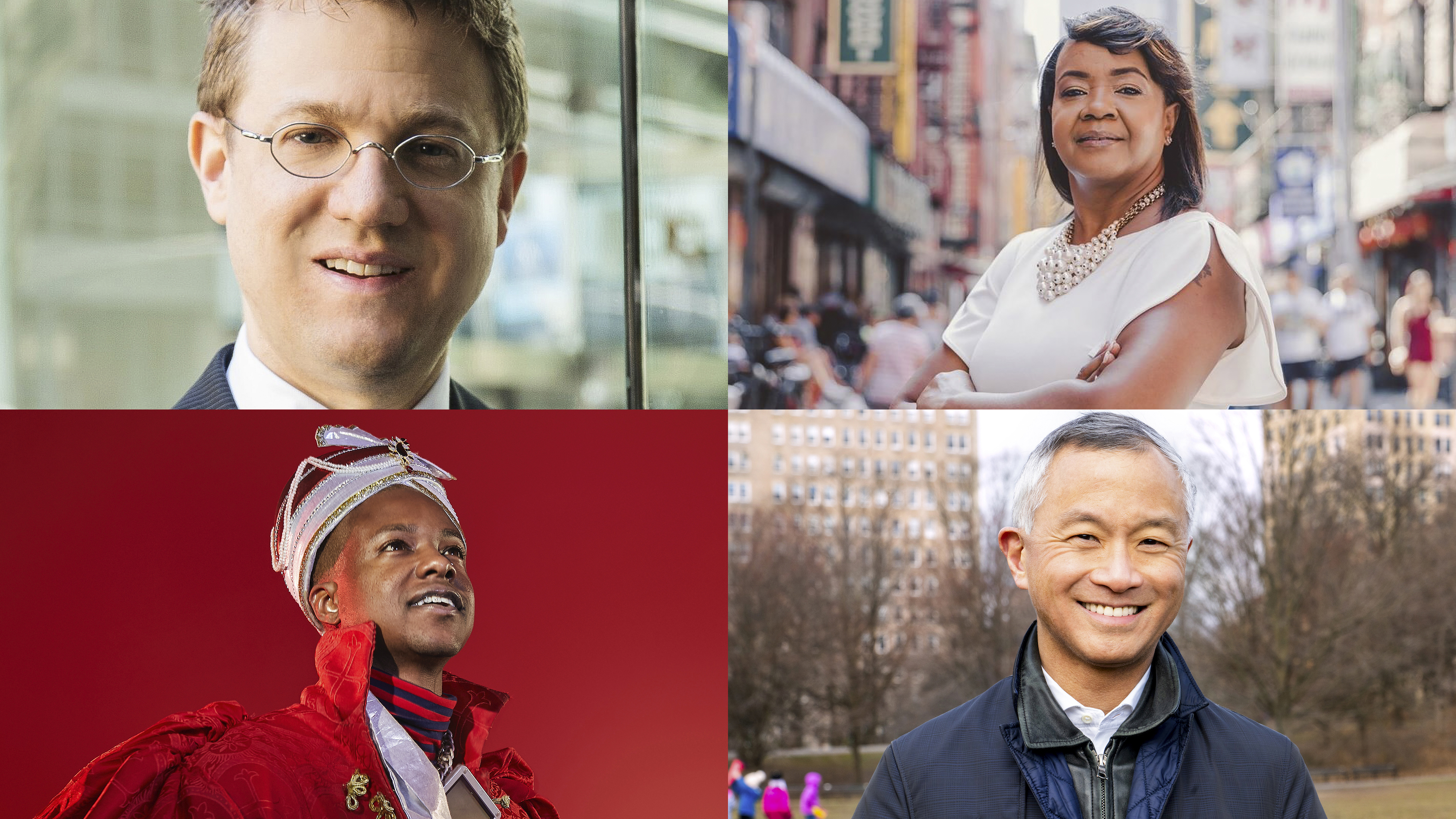 (Clockwise) Aaron Foldenauer, Joycelyn Taylor, Art Chang and Paperboy Prince.