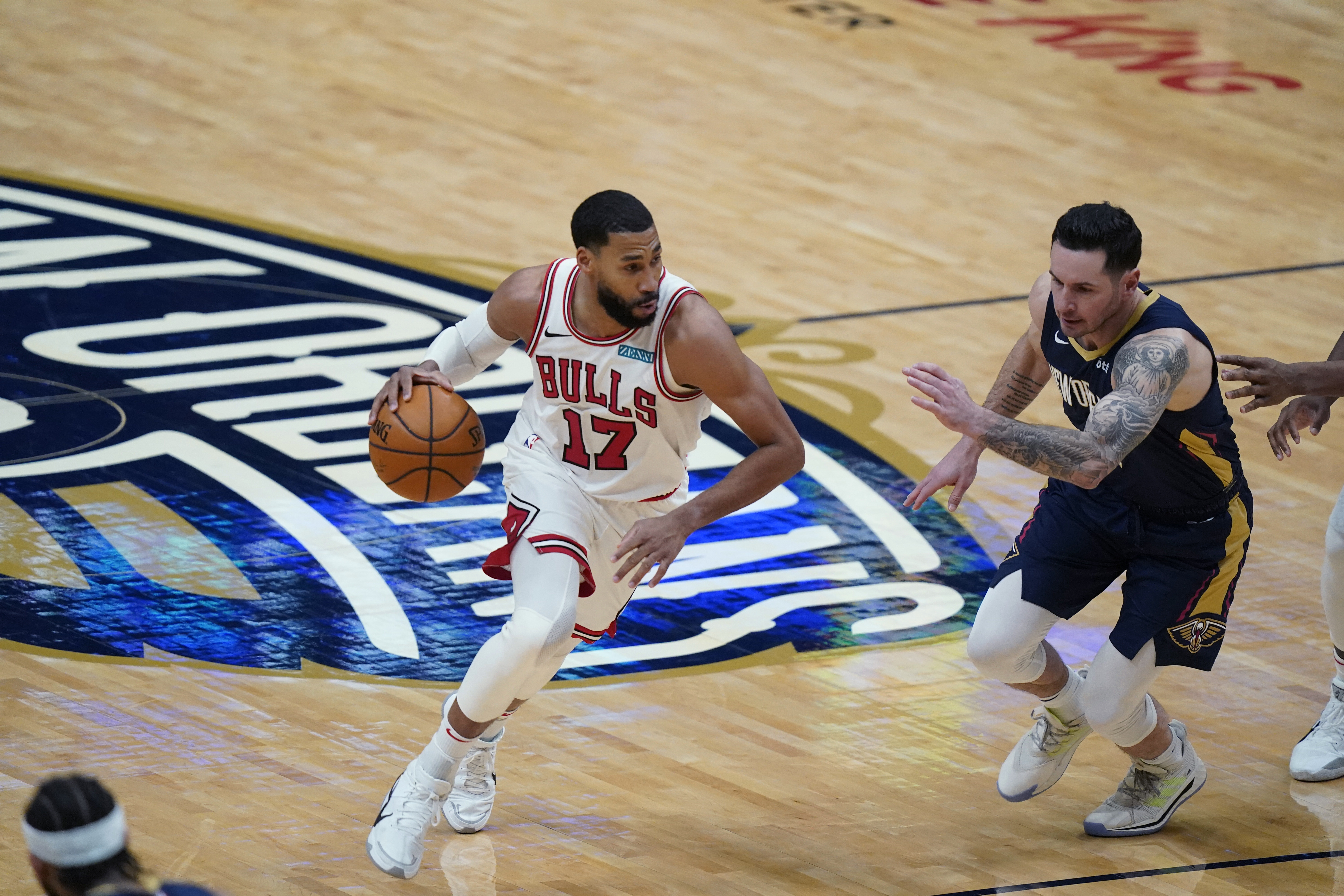 The Bulls' Garrett Temple believes the front office has the team on the right track.