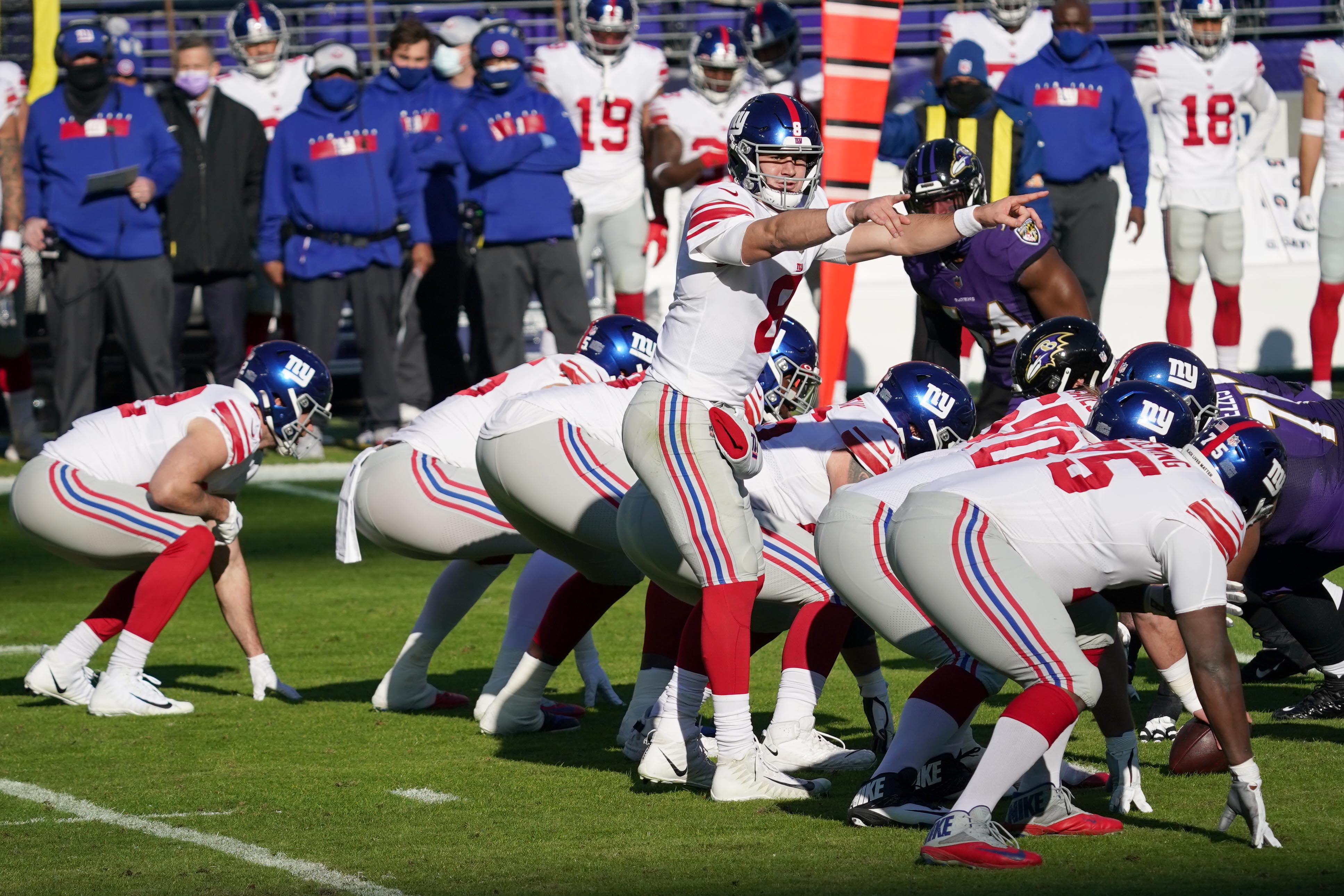 NFL: New York Giants at Baltimore Ravens