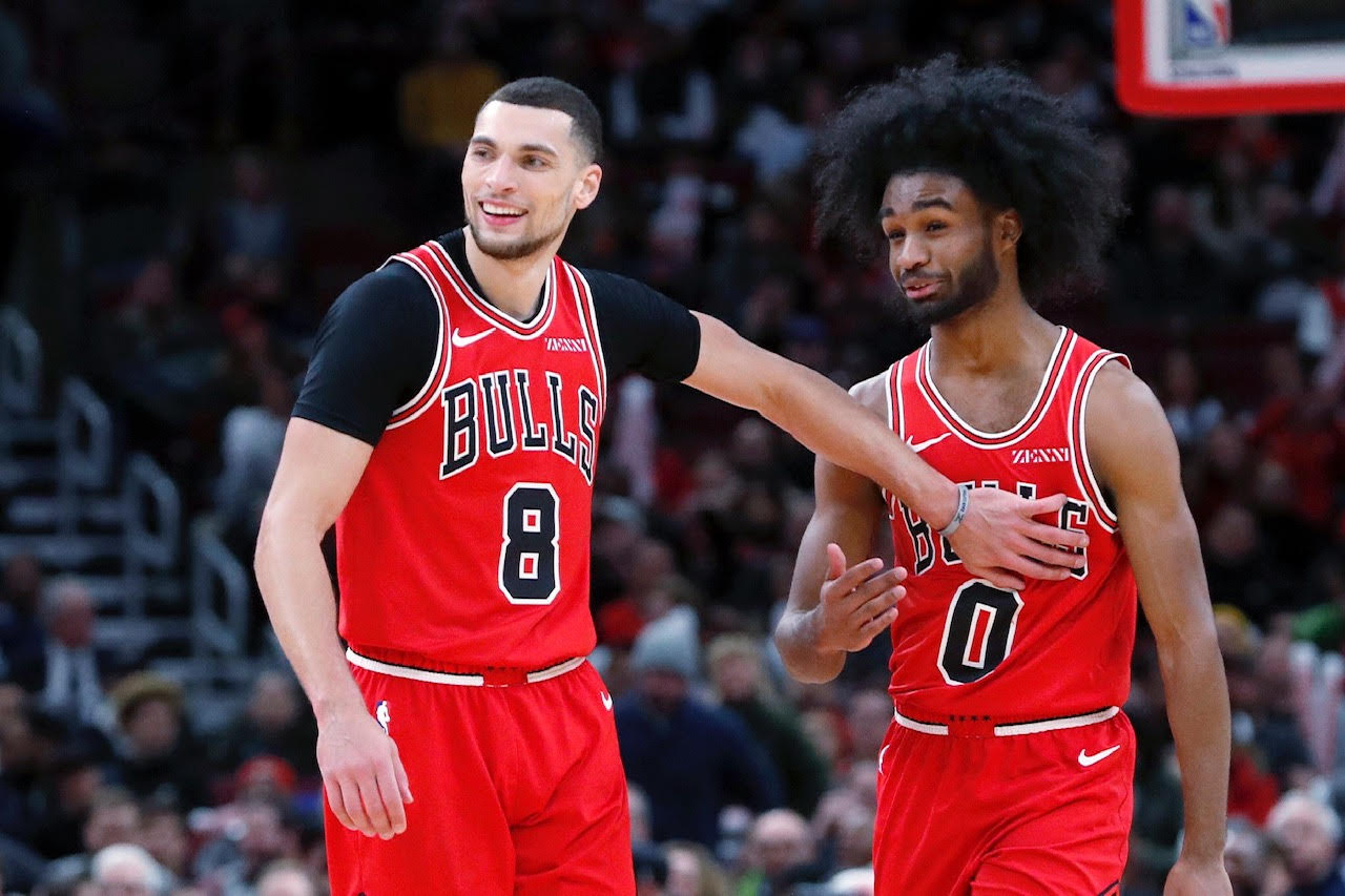 The Bulls will need outstanding performances from Zach LaVine and Coby White during the final games of the season.
