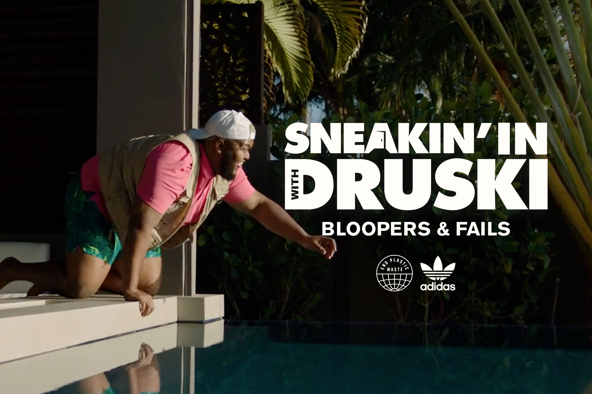 """""""Sneakin' In With Druski"""" bloopers"""