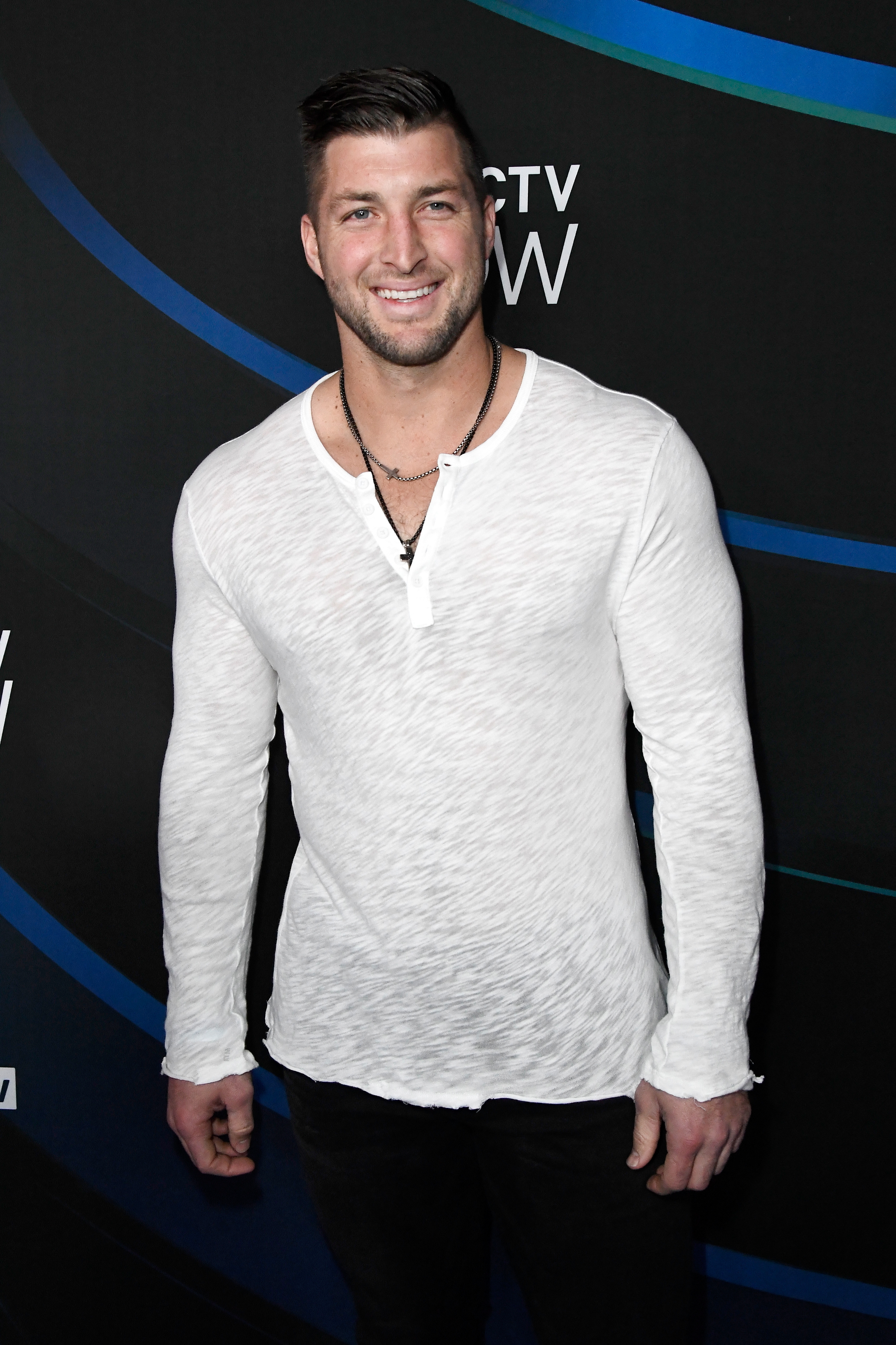 Baseball player/former NFL player Tim Tebow attends the 2017 DIRECTV NOW Super Saturday Night Concert at Club Nomadic on February 4, 2017 in Houston, Texas.
