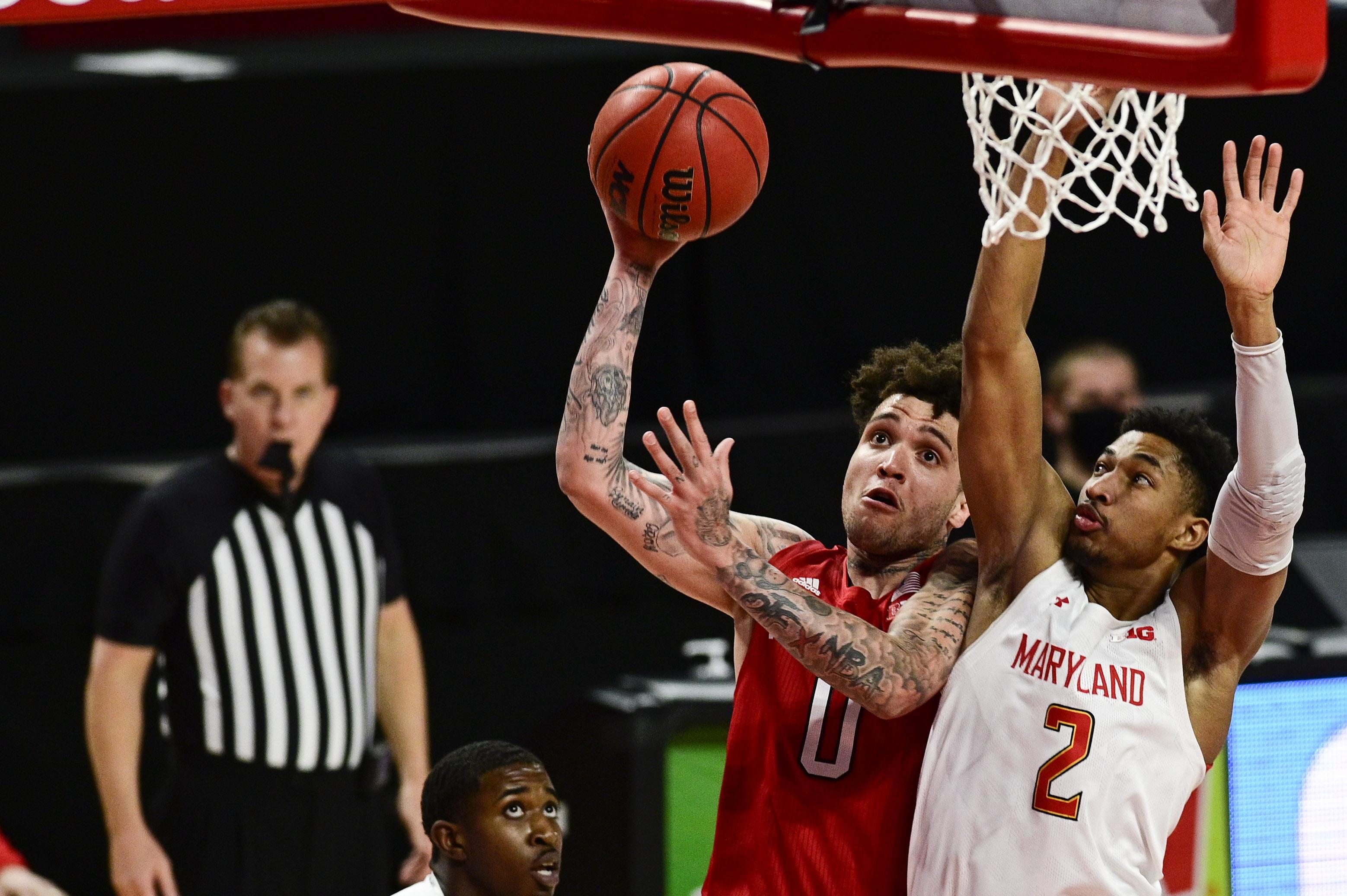 NCAA Basketball: Nebraska at Maryland
