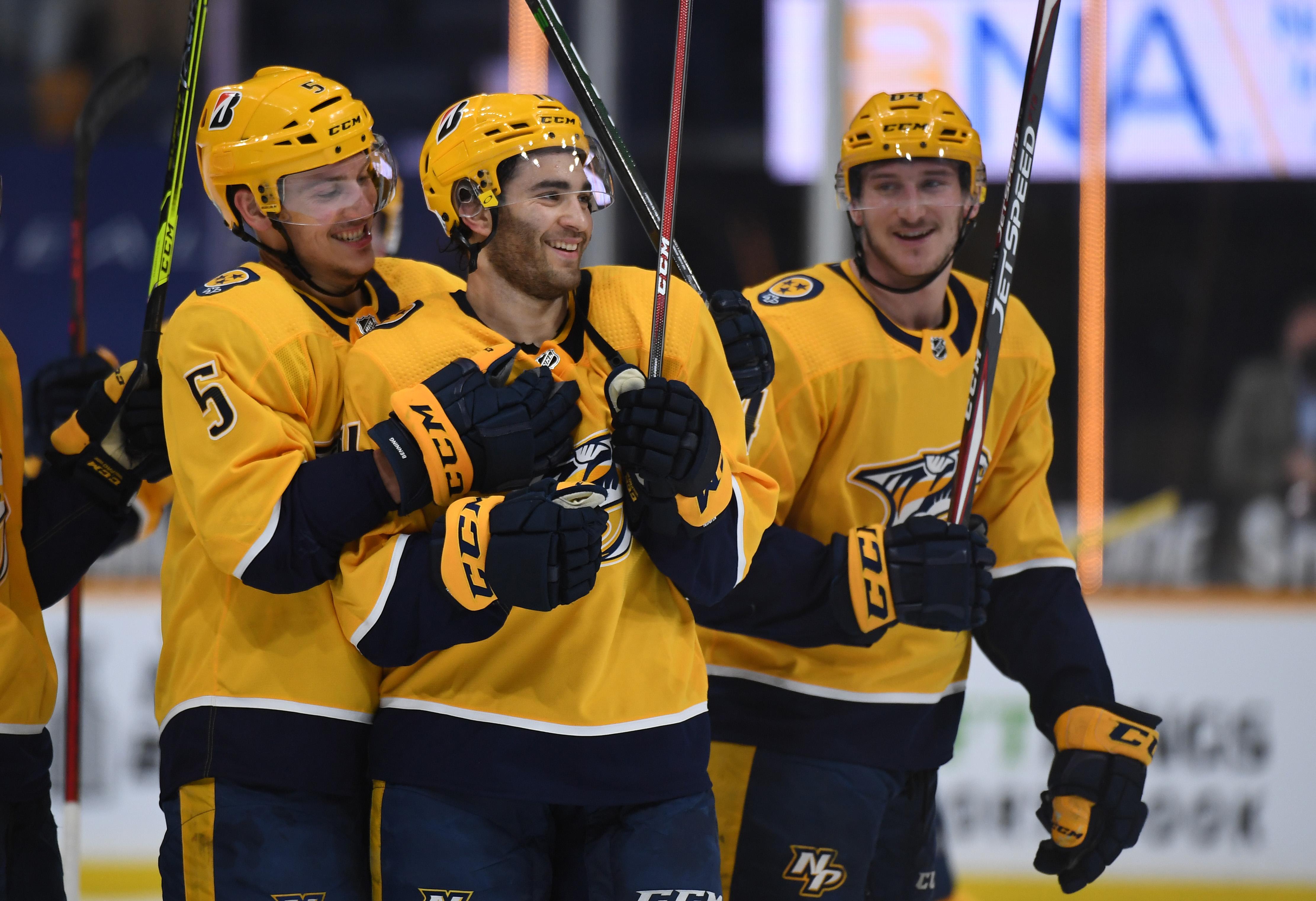 NHL: Carolina Hurricanes at Nashville Predators