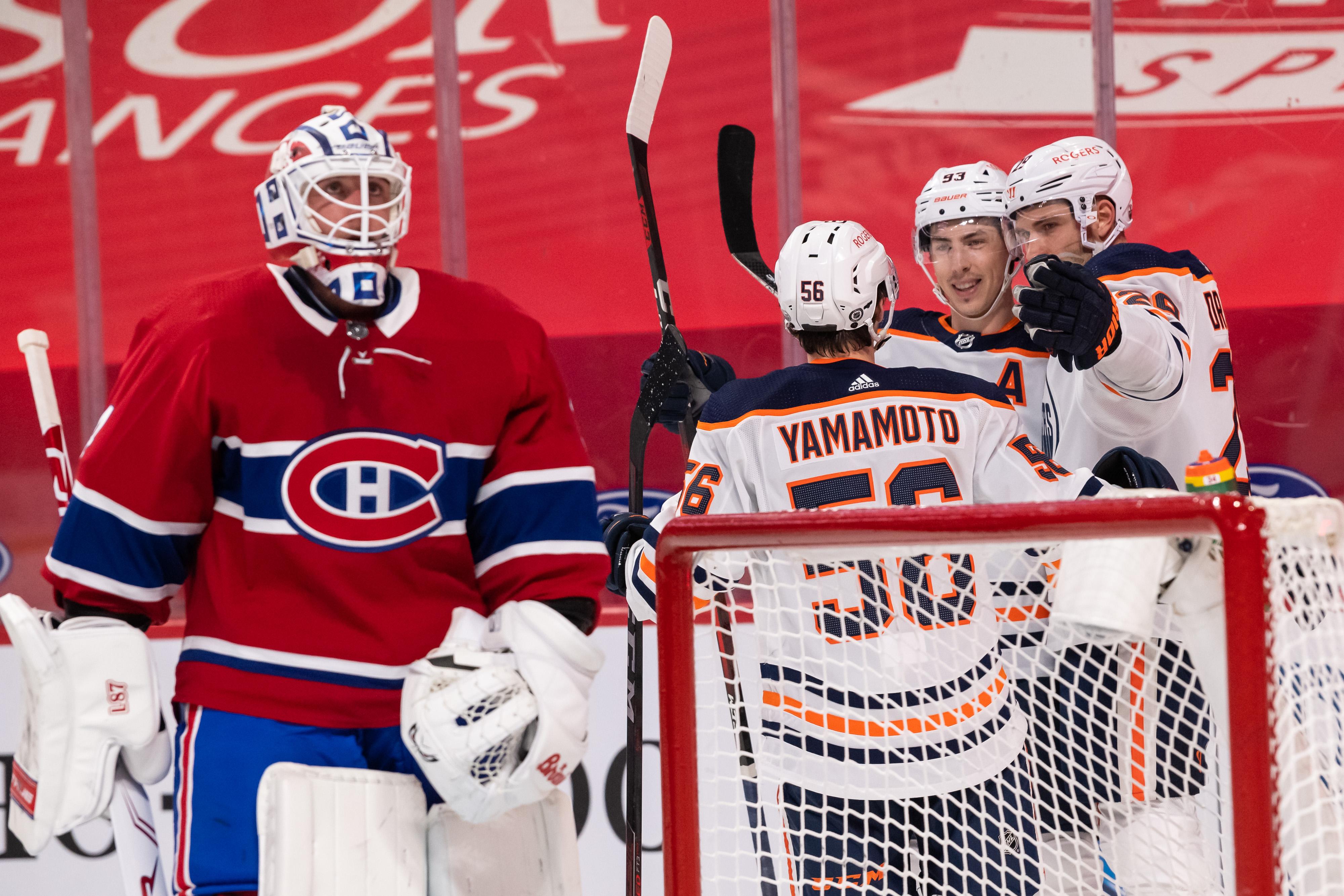 NHL: MAY 10 Oilers at Canadiens