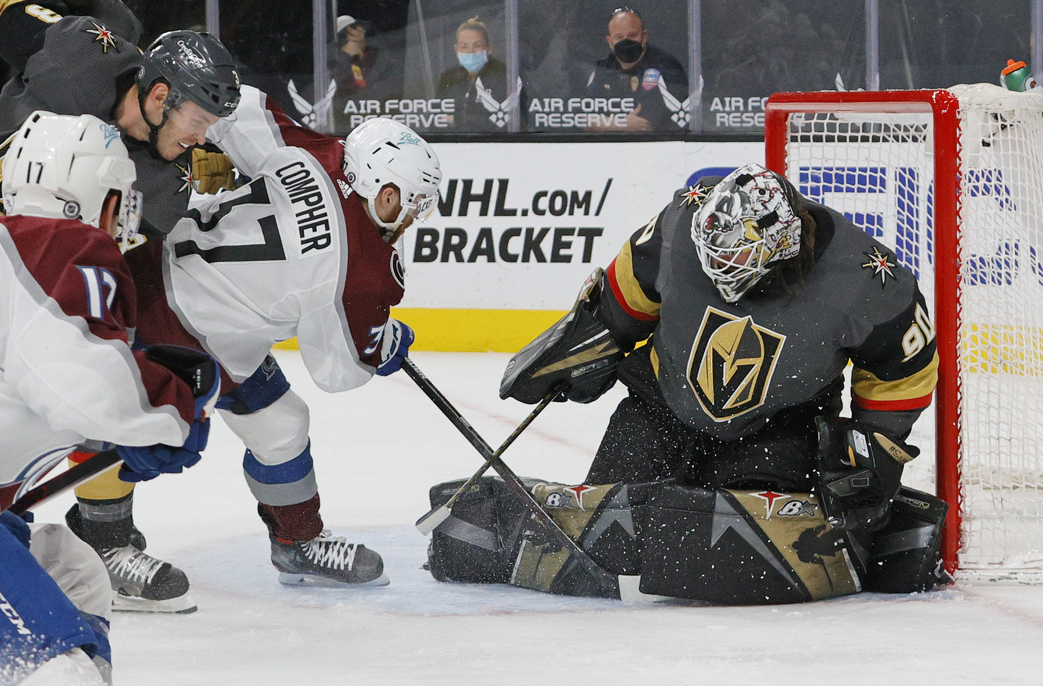 Colorado Avalanche v Vegas Golden Knights