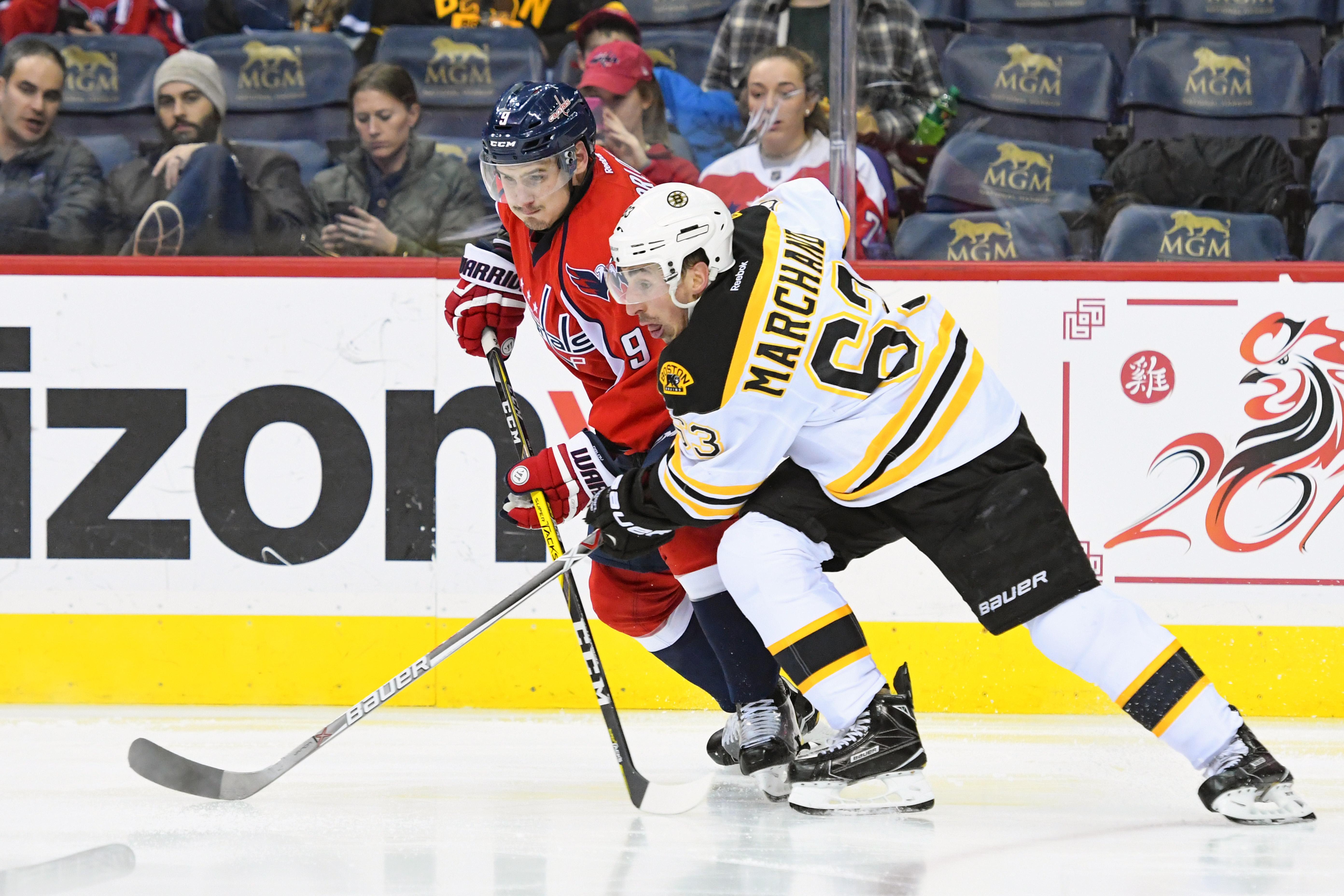 NHL: FEB 01 Bruins at Capitals