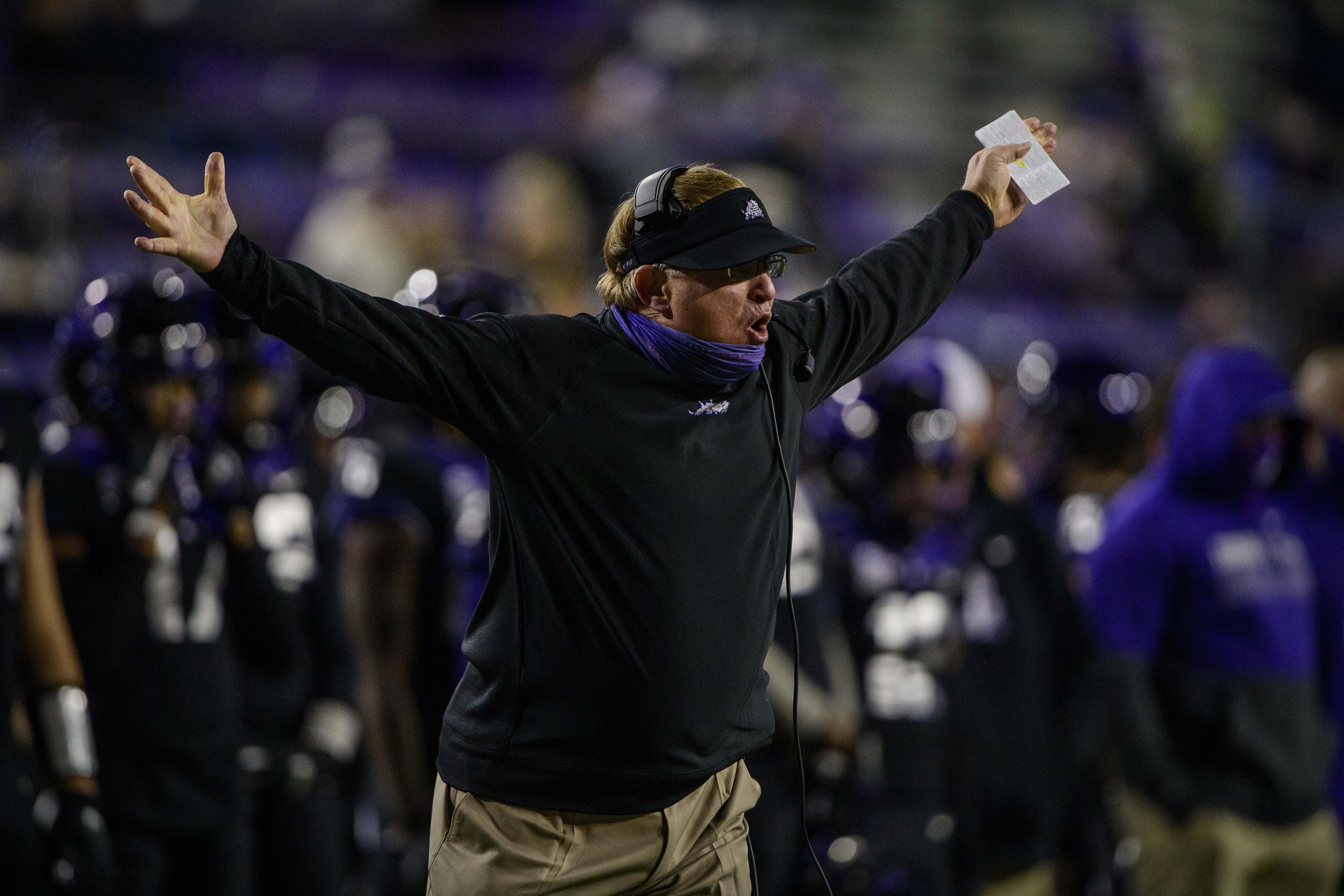 NCAA Football: Louisiana Tech at Texas Christian