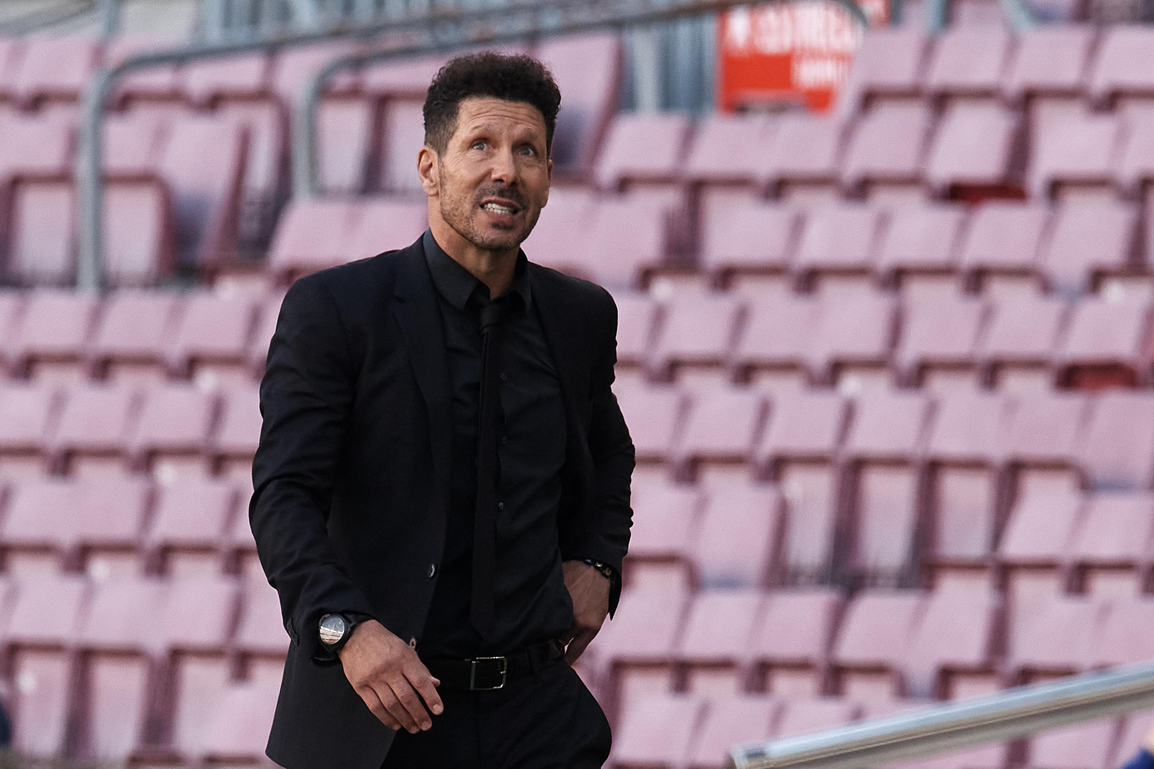 Diego Simeone - Atletico de Madrid - La Liga