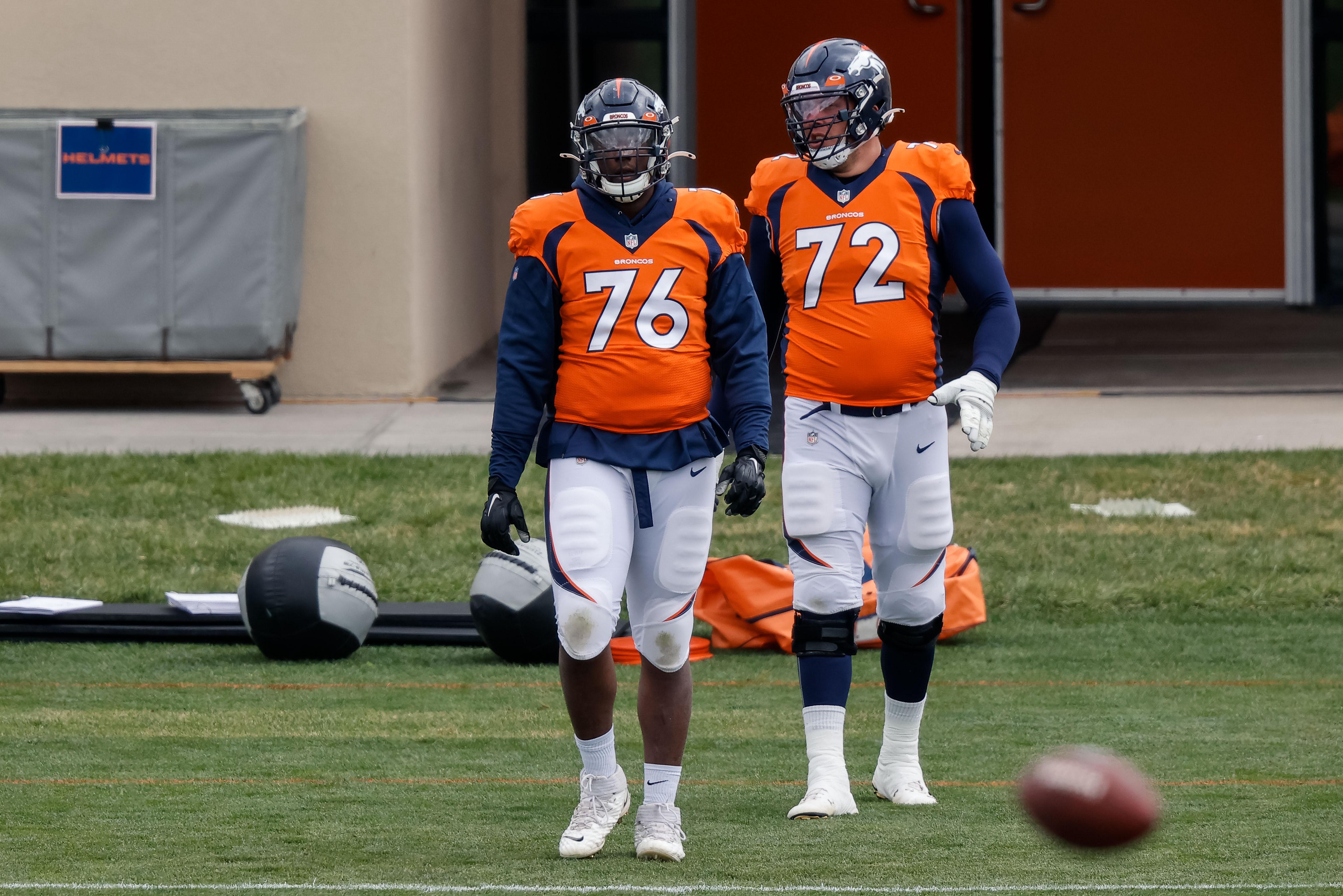 NFL: Denver Broncos-Practice