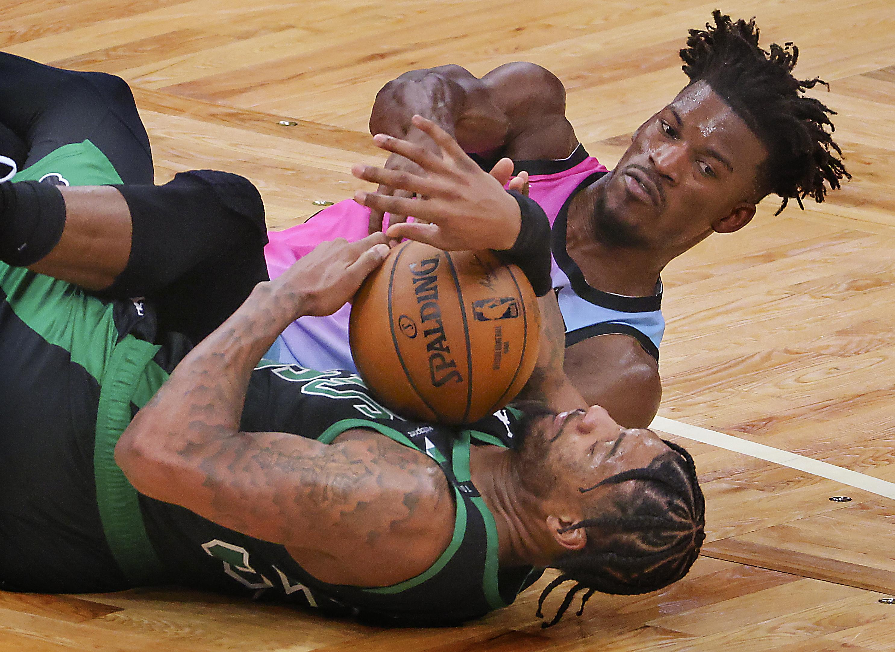 Miami Heat Vs Boston Celtics At TD Garden