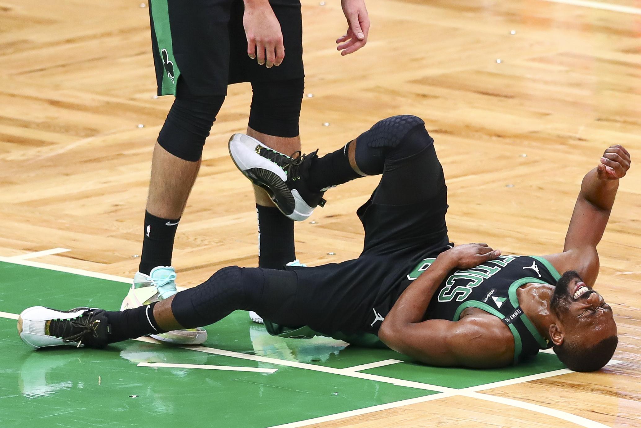 New York Knicks v Boston Celtics