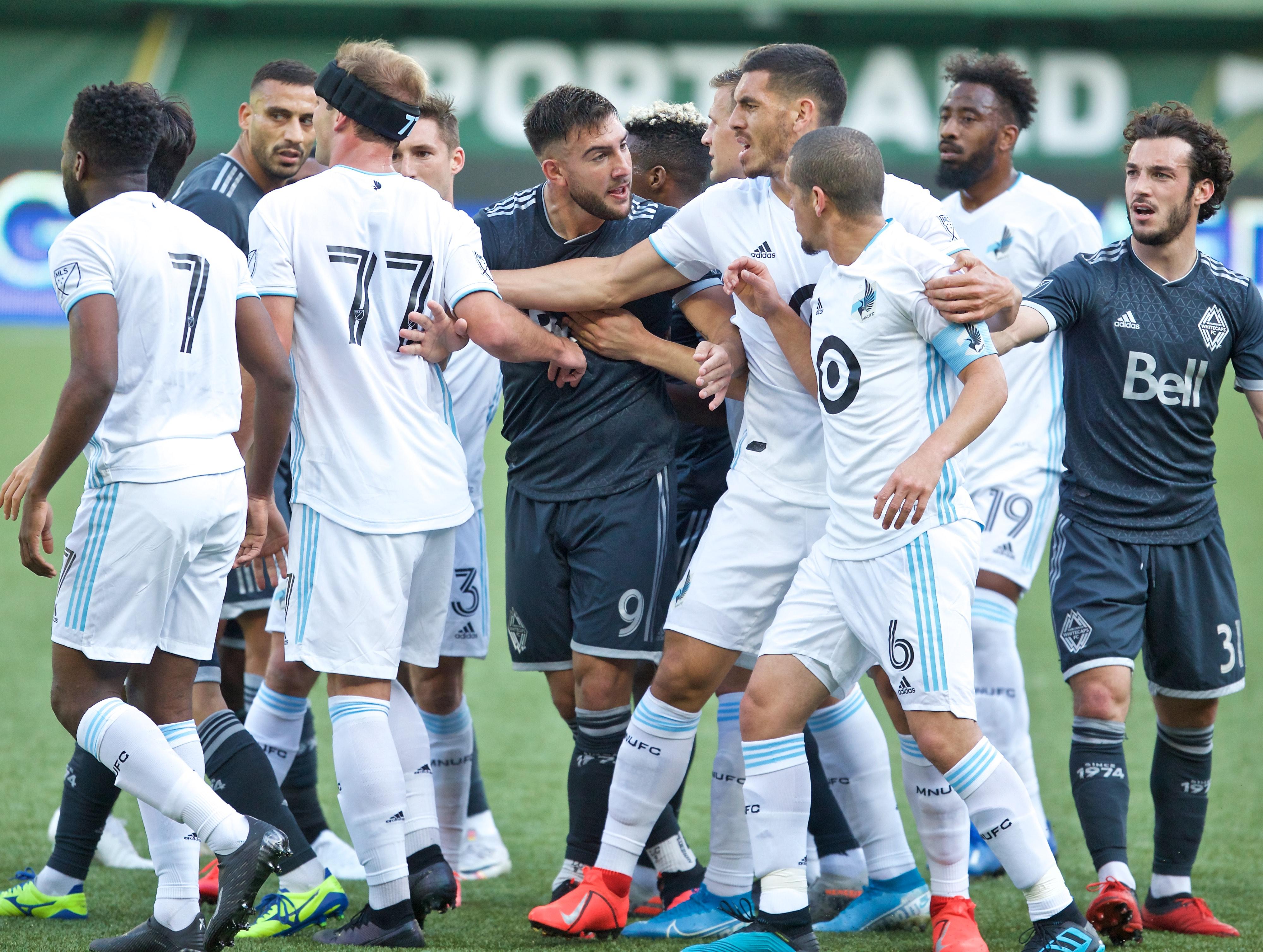 MLS: Preseason-Vancouver Whitecaps FC at Minnesota United