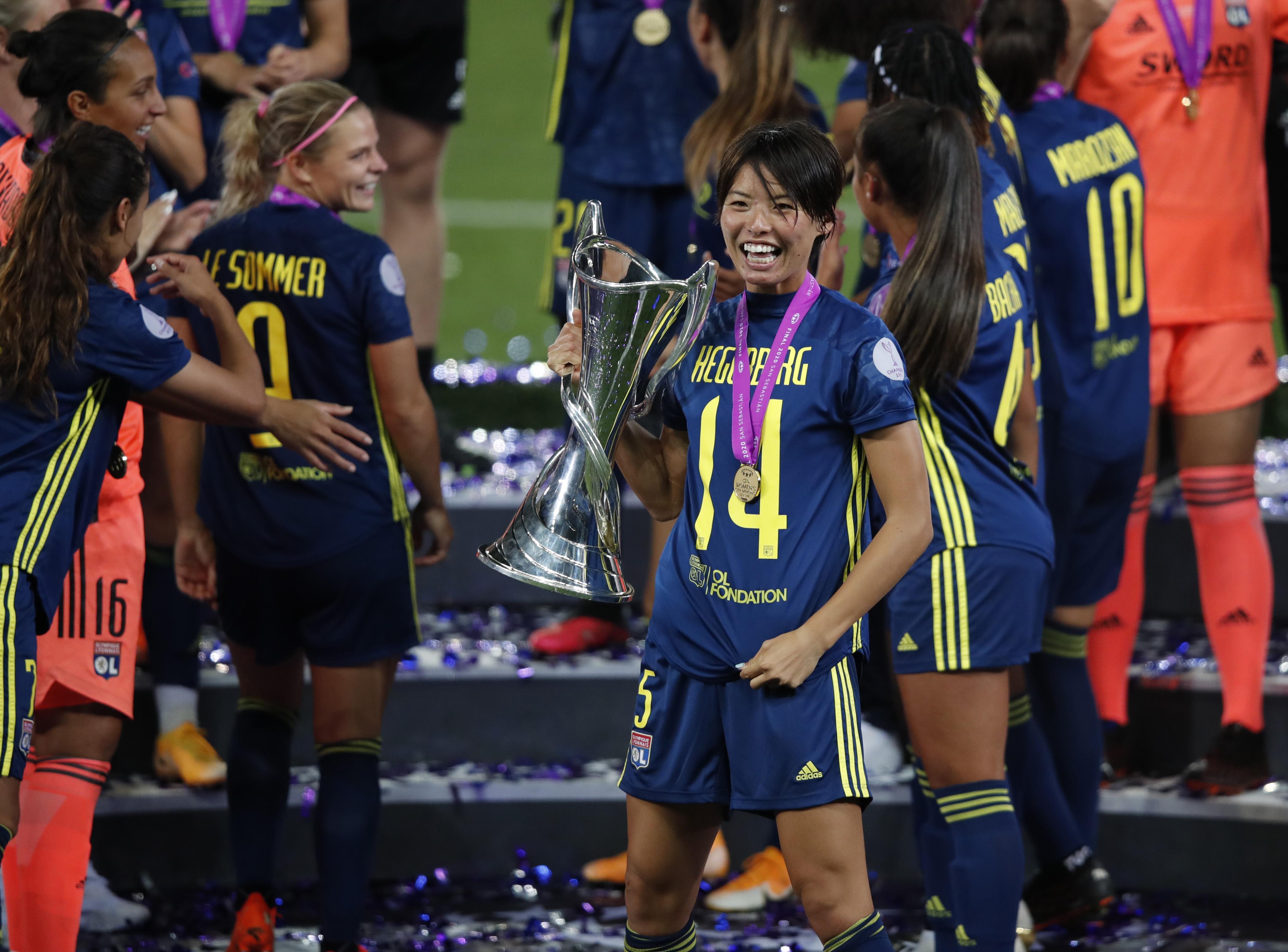 VfL Wolfsburg Women's v Olympique Lyonnais - UEFA Women's Champions League Final