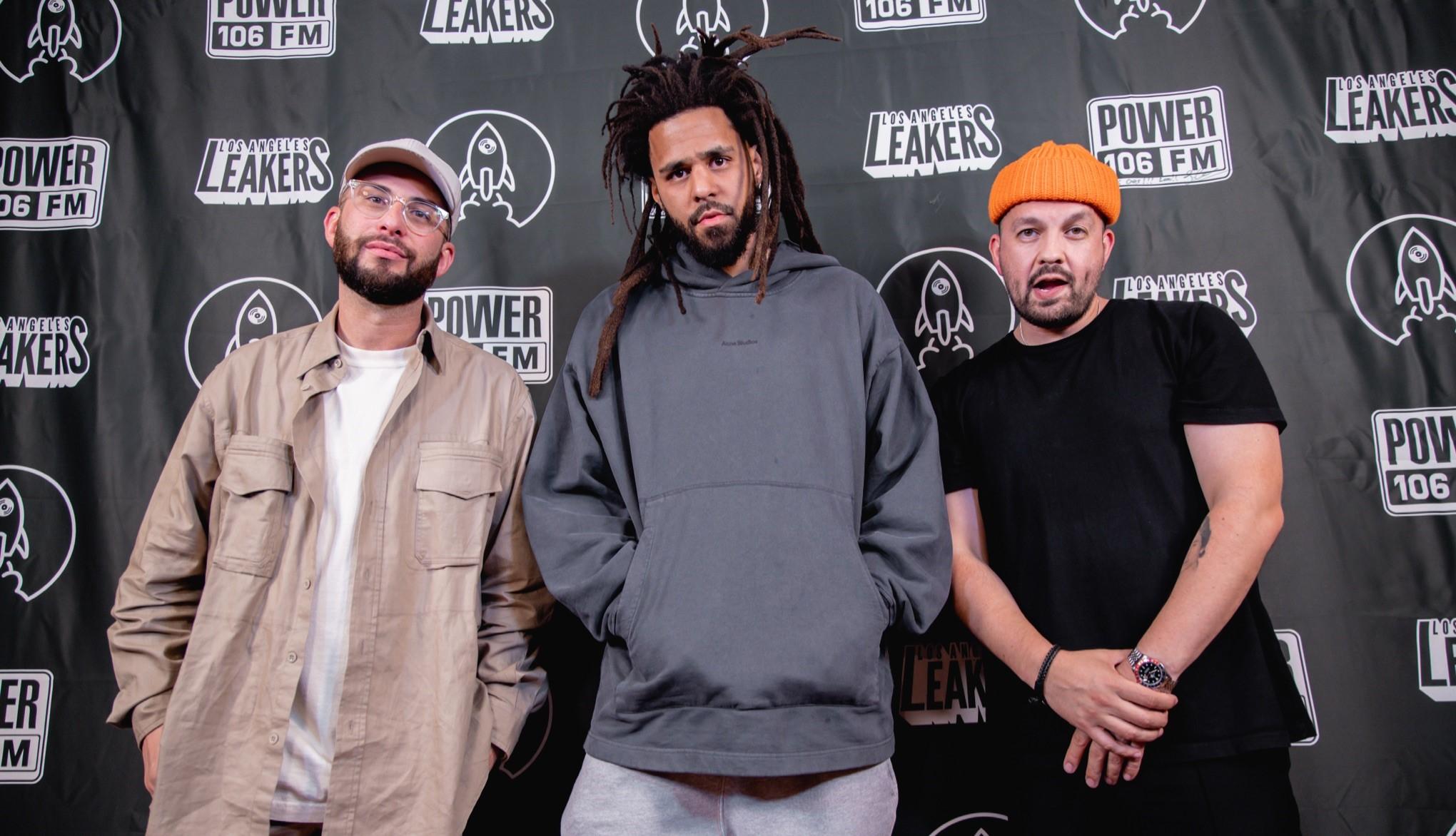 Justin Credible, J. Cole, and DJ Sourmilk
