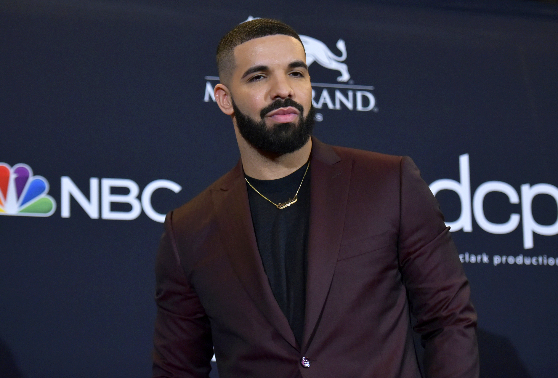 Drake at the Billboard Music Awards in Las Vegas