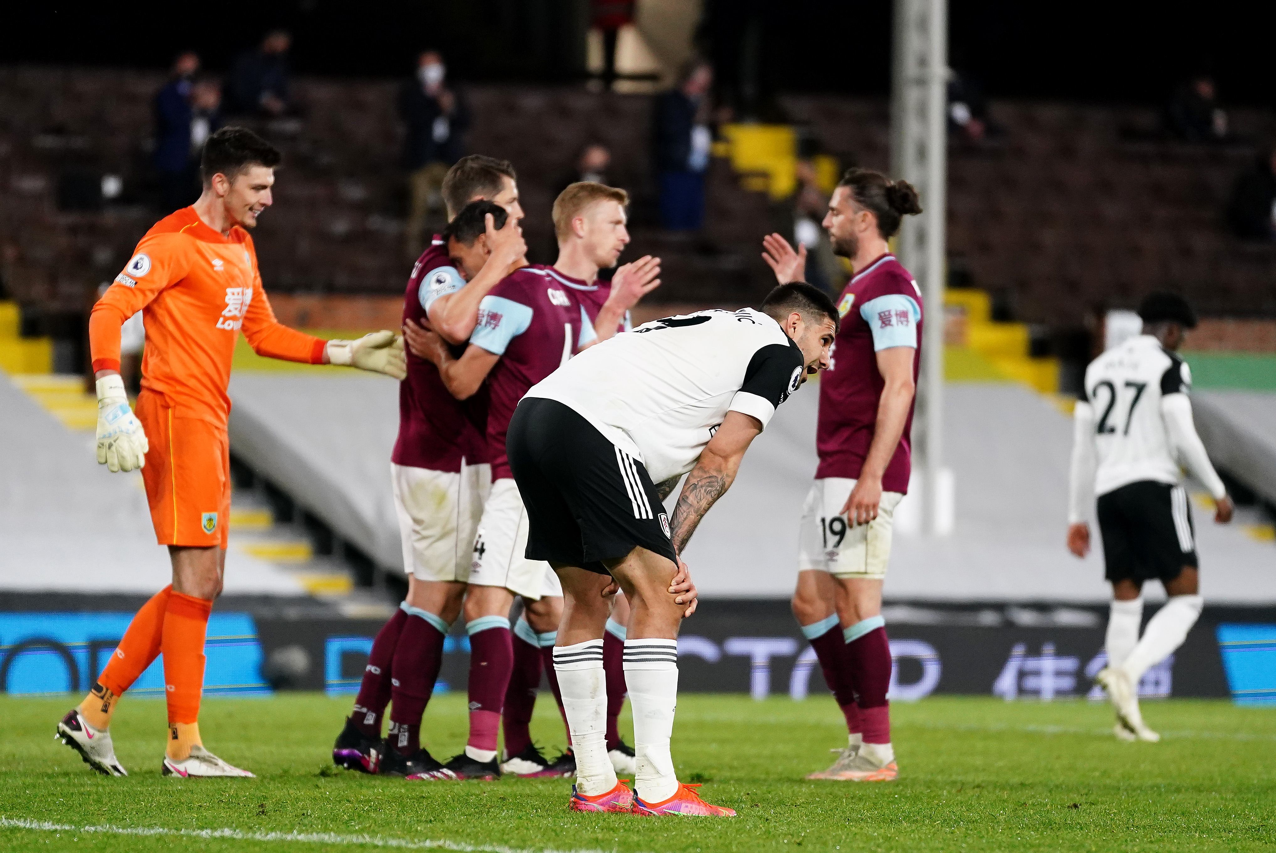 Fulham v Burnley - Premier League