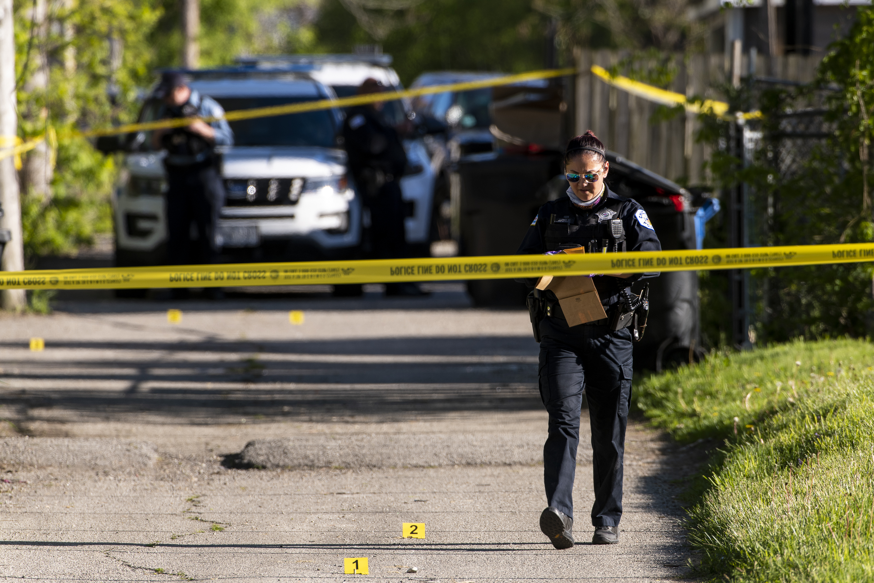 A 15-year-old boy was shot May 12, 2021 in Englewood.
