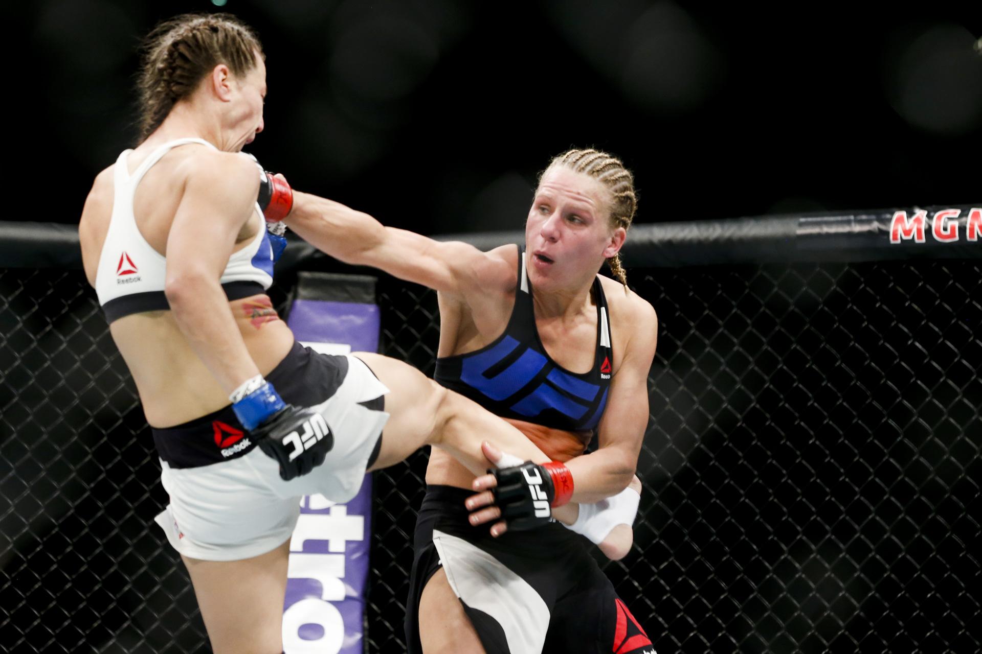 UFC 195战斗照片