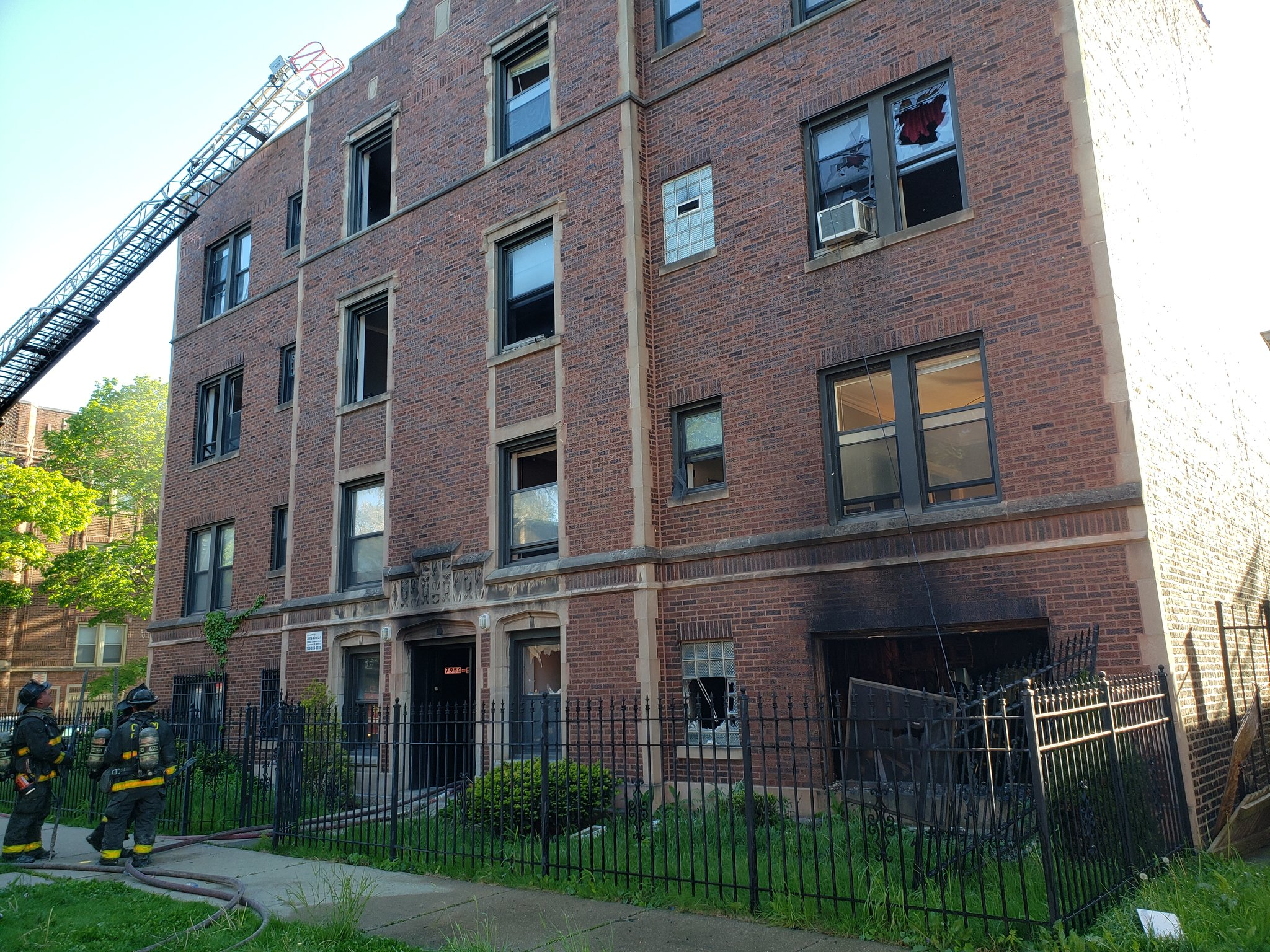 One person was killed and another critically wounded in a fire May 12, 2021 in Chatham.