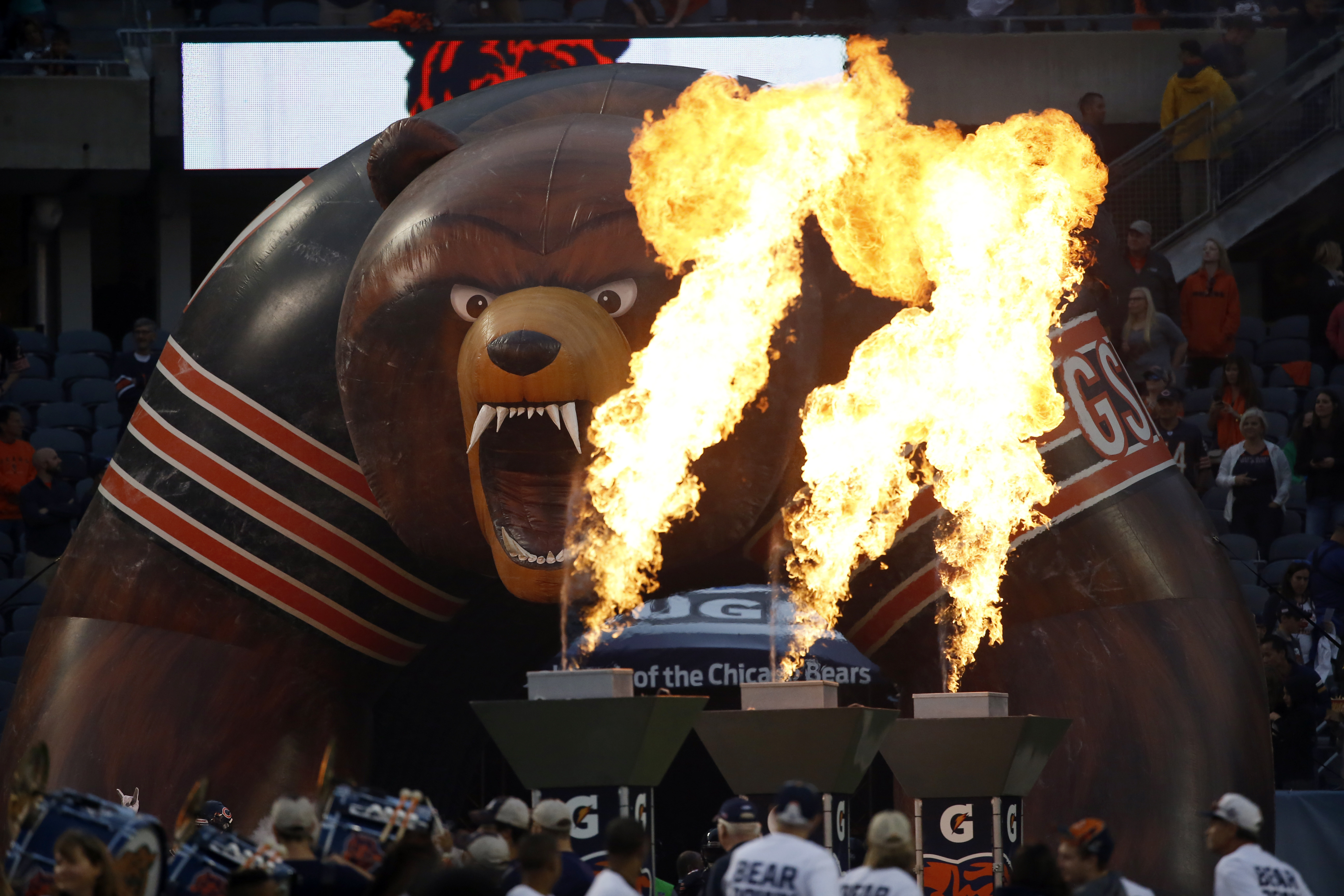 The Bears' home opener will be at noon Sept. 19 against the Bengals.