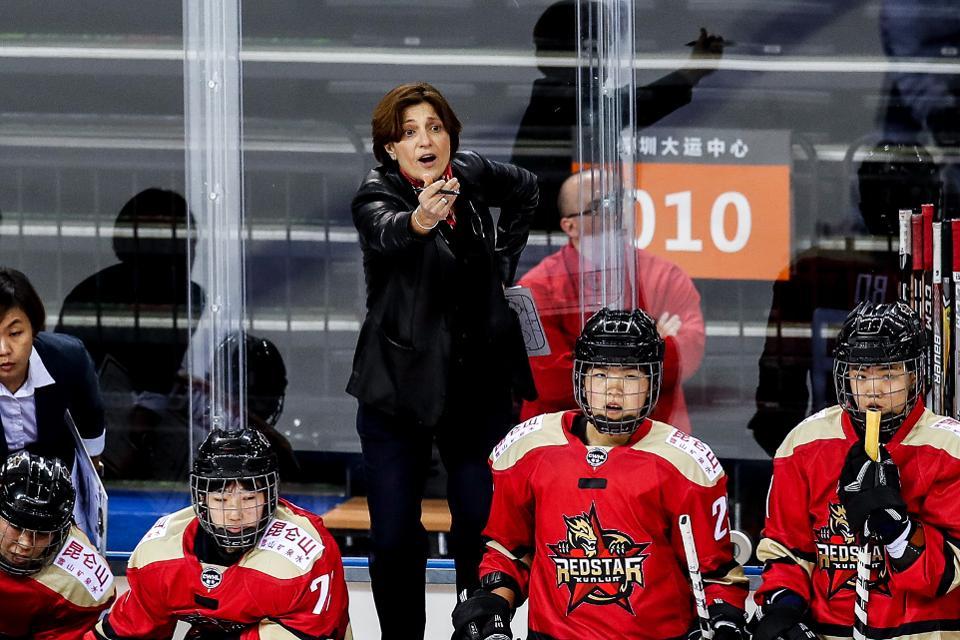 Toronto Six president and head coach Digit Murphy.