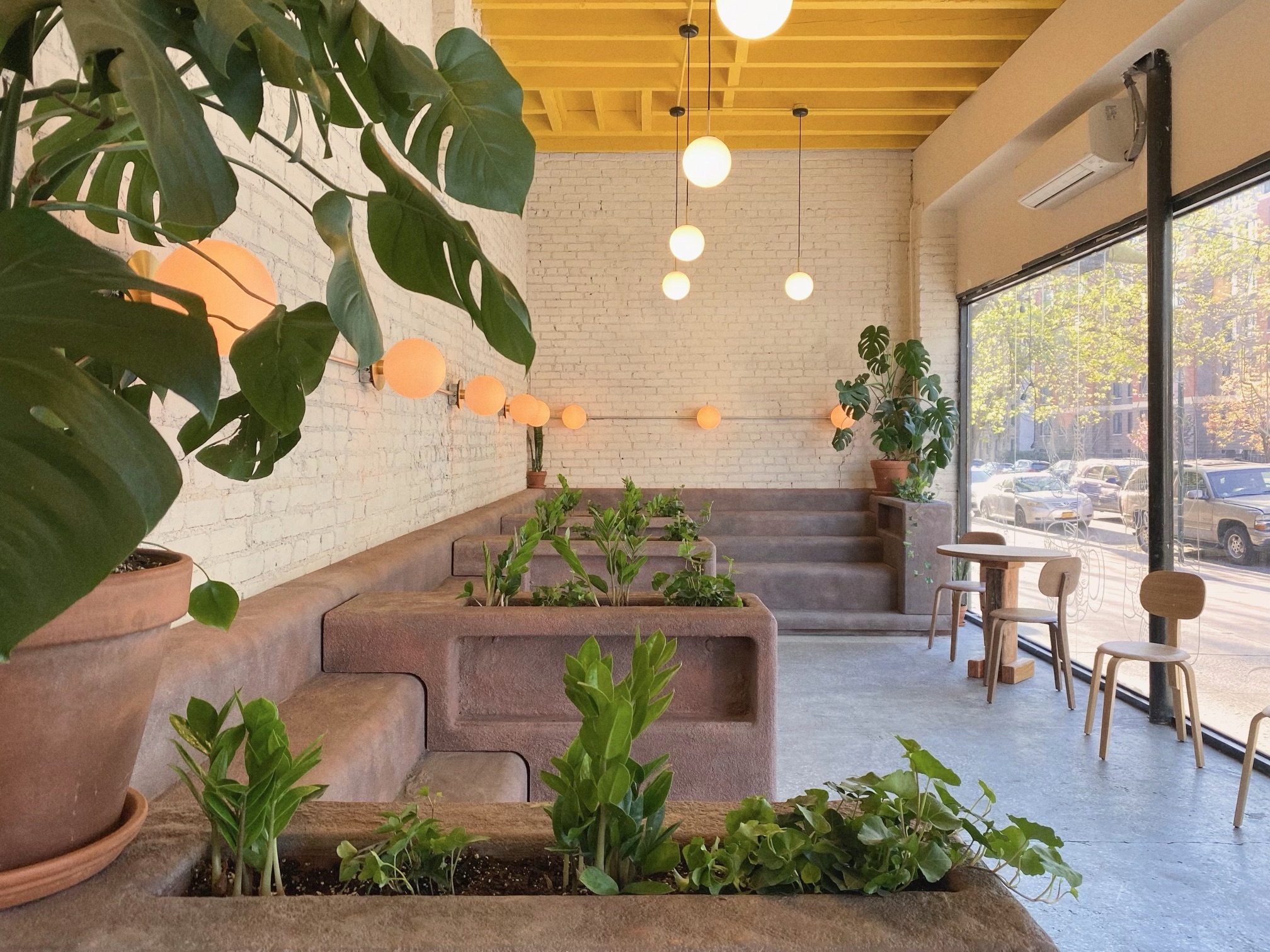 Inside a new coffee shop in Crown Heights