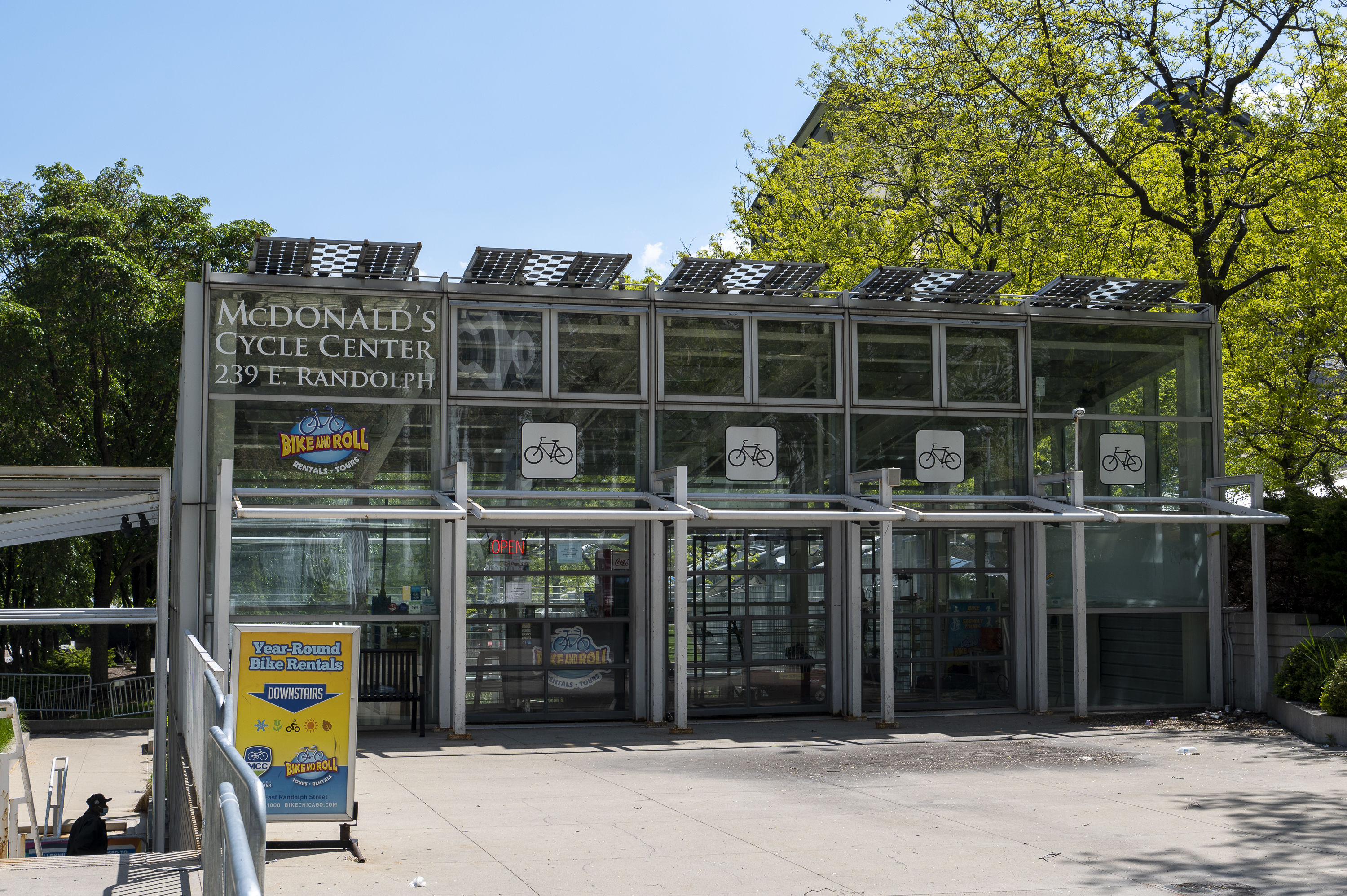 The McDonald's Cycle Center, at the north end of Millennium Park, will be operated by a new vendor.