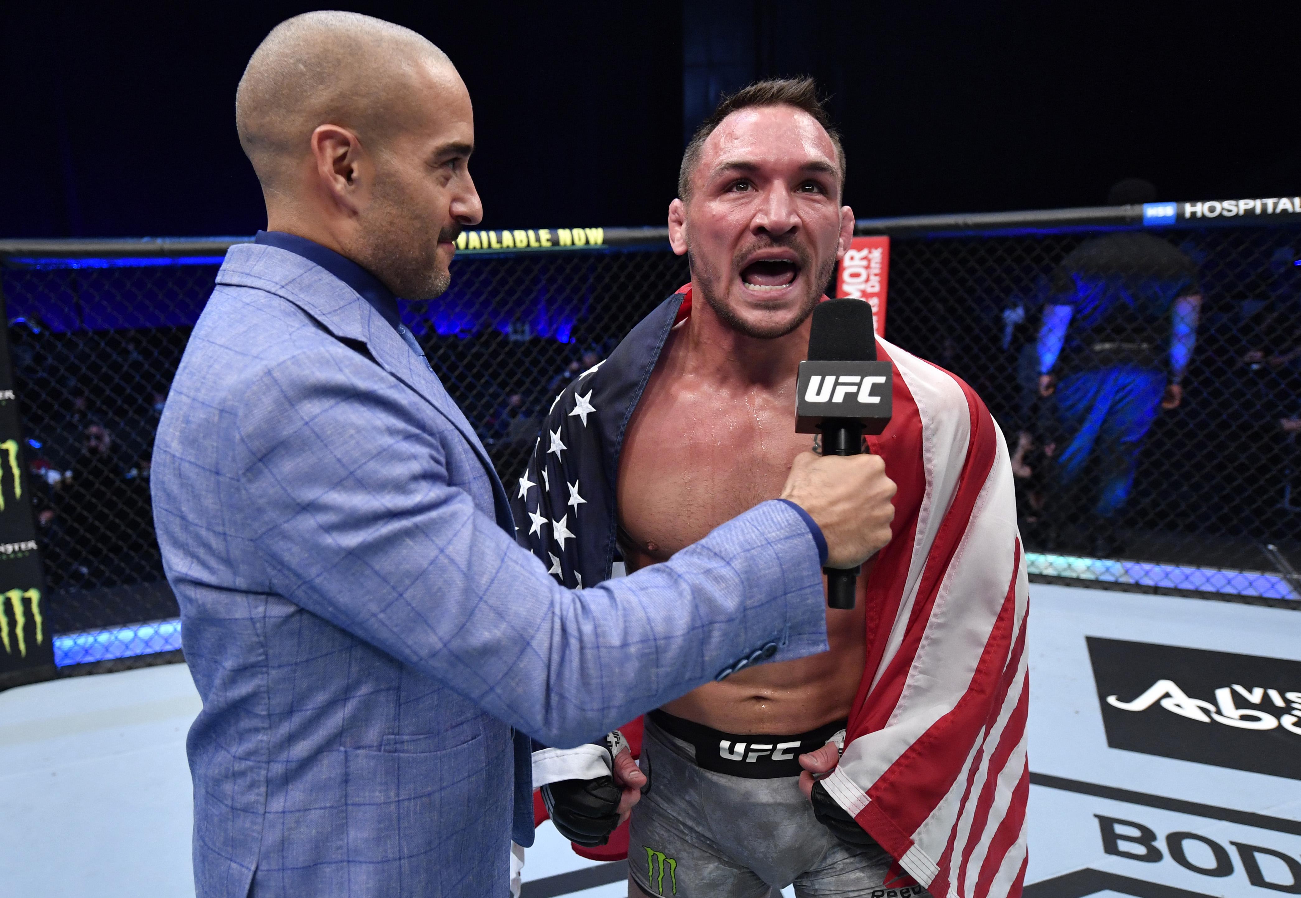 UFC 257:Hooker V Chandler