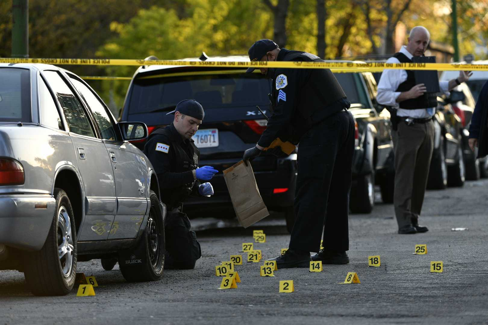 An 8-year-old boy was shot May, 13, 2021 in Lawndale.
