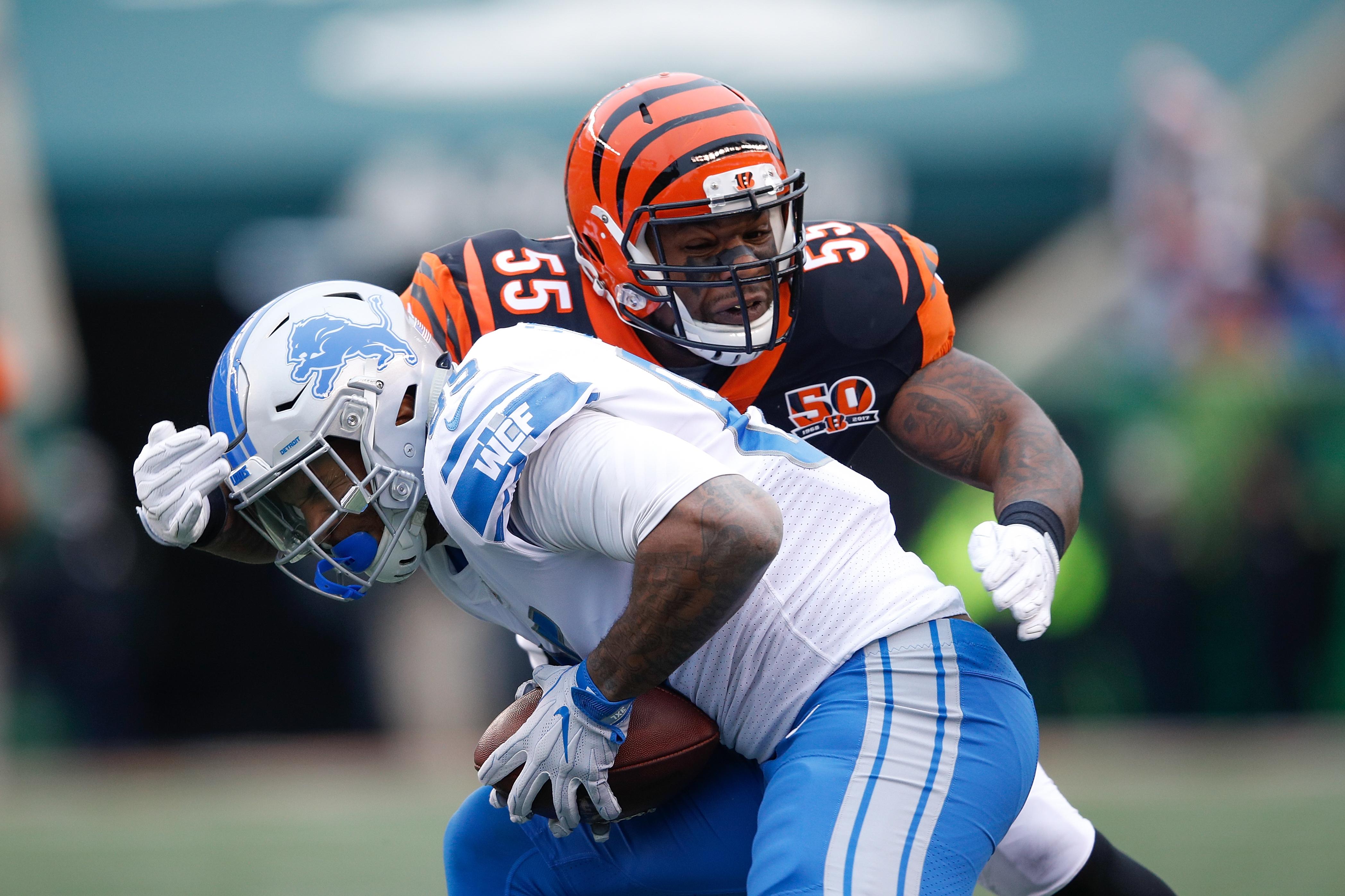 Detroit Lions v Cincinnati Bengals