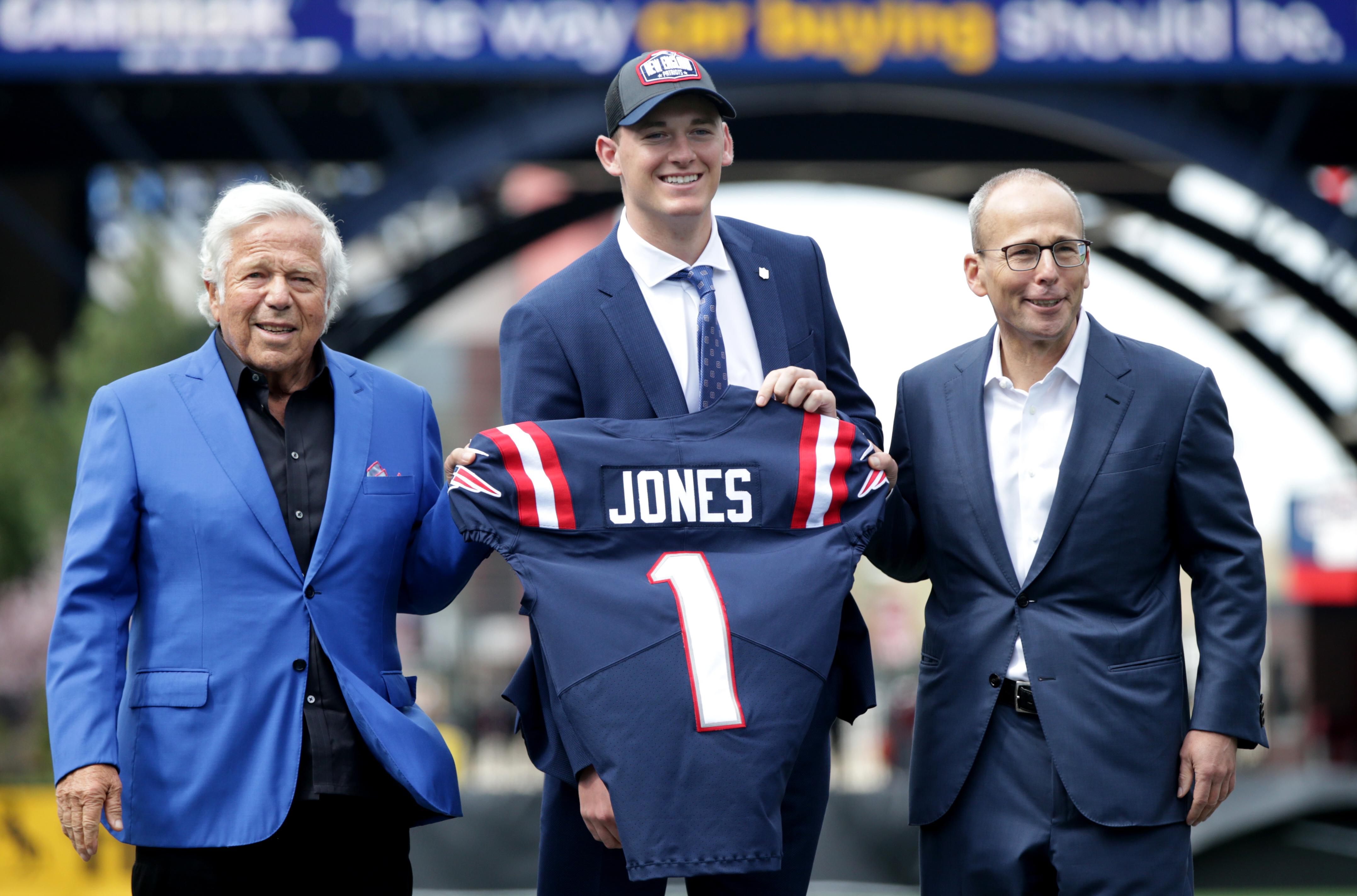 Patriots Draft Pick Mac Jones