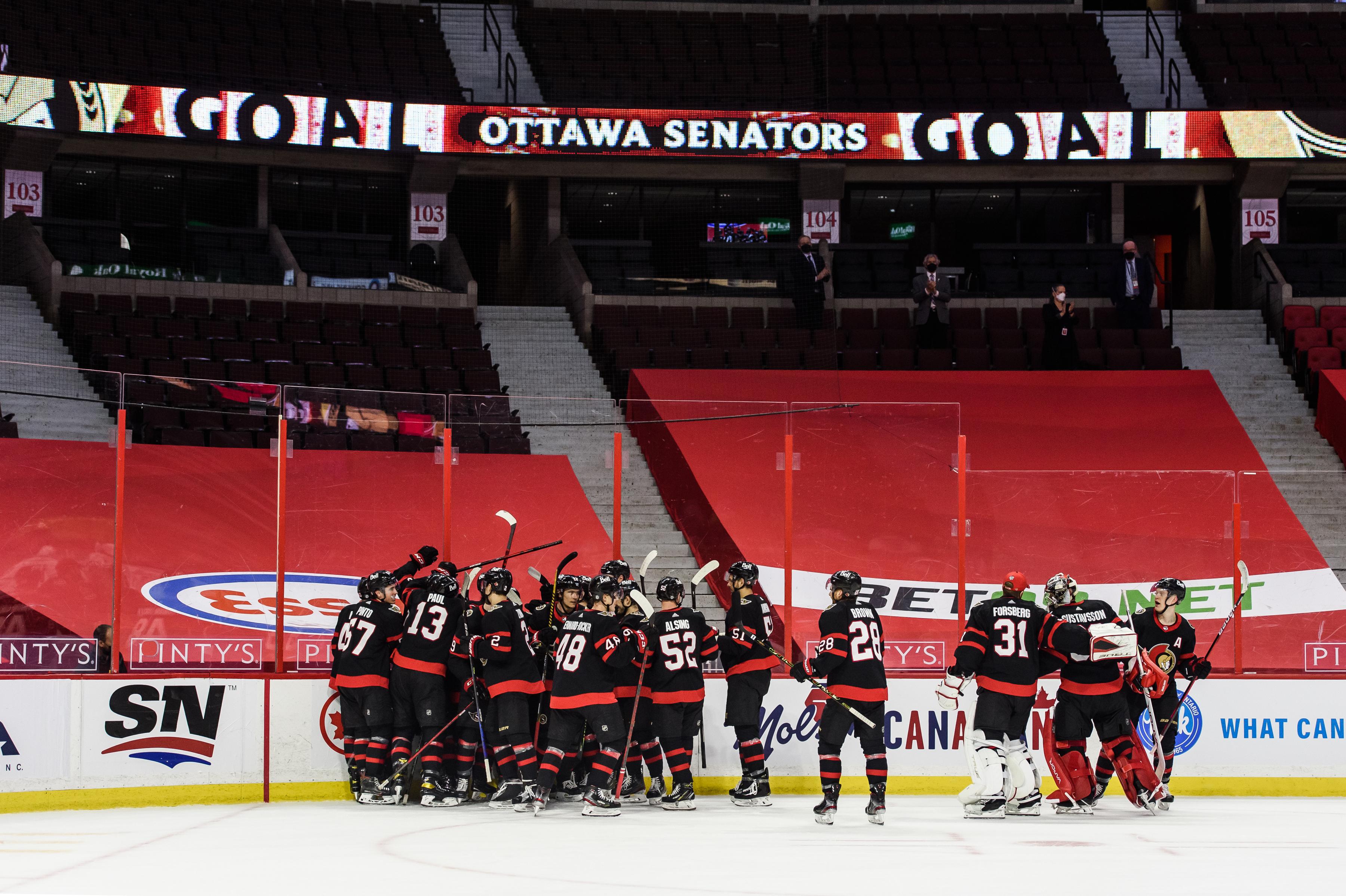 NHL: MAY 12 Leafs at Senators