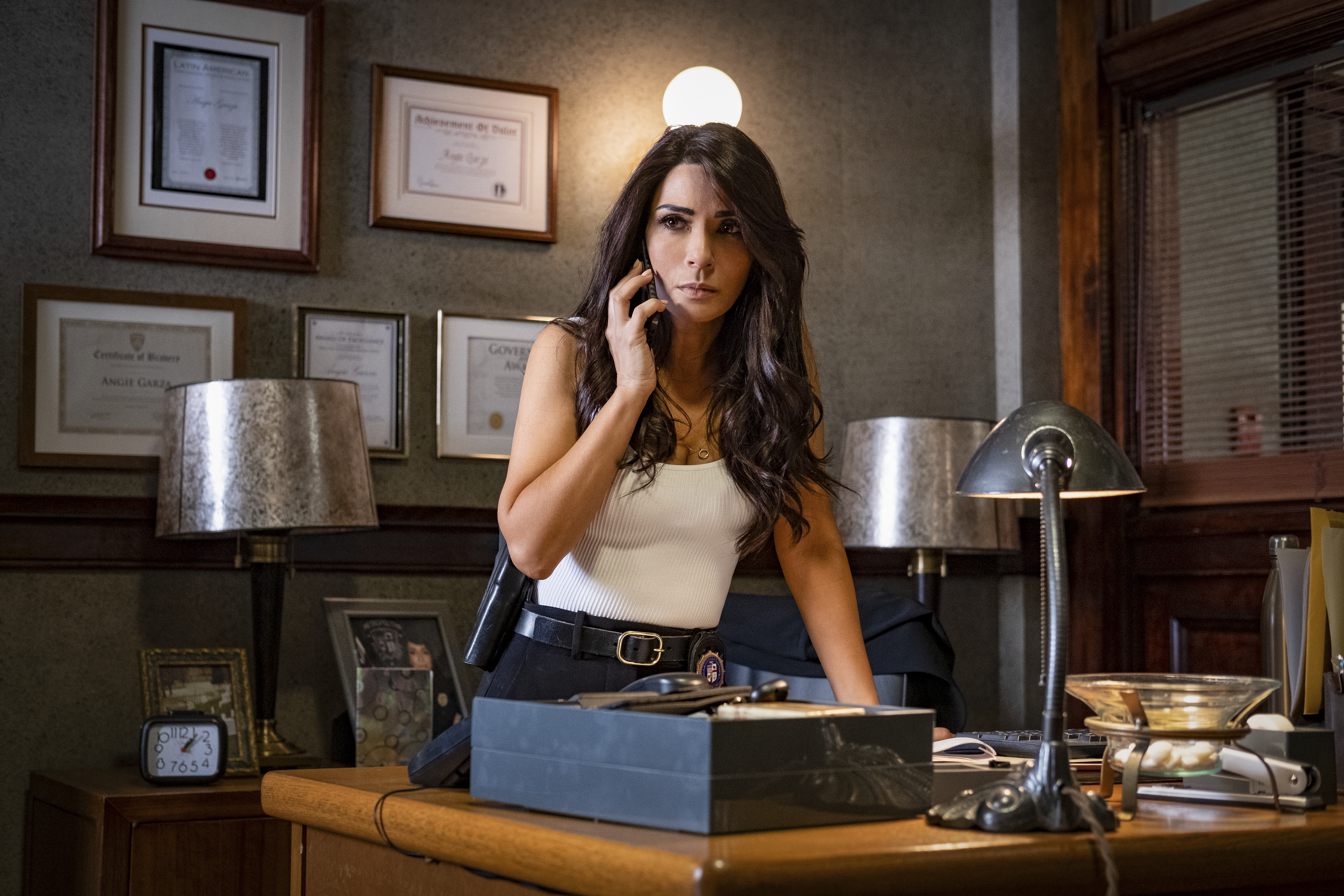 """Marisol Nichols of """"Riverdale"""" plays a police captain in """"Spiral: From the Book of Saw."""""""