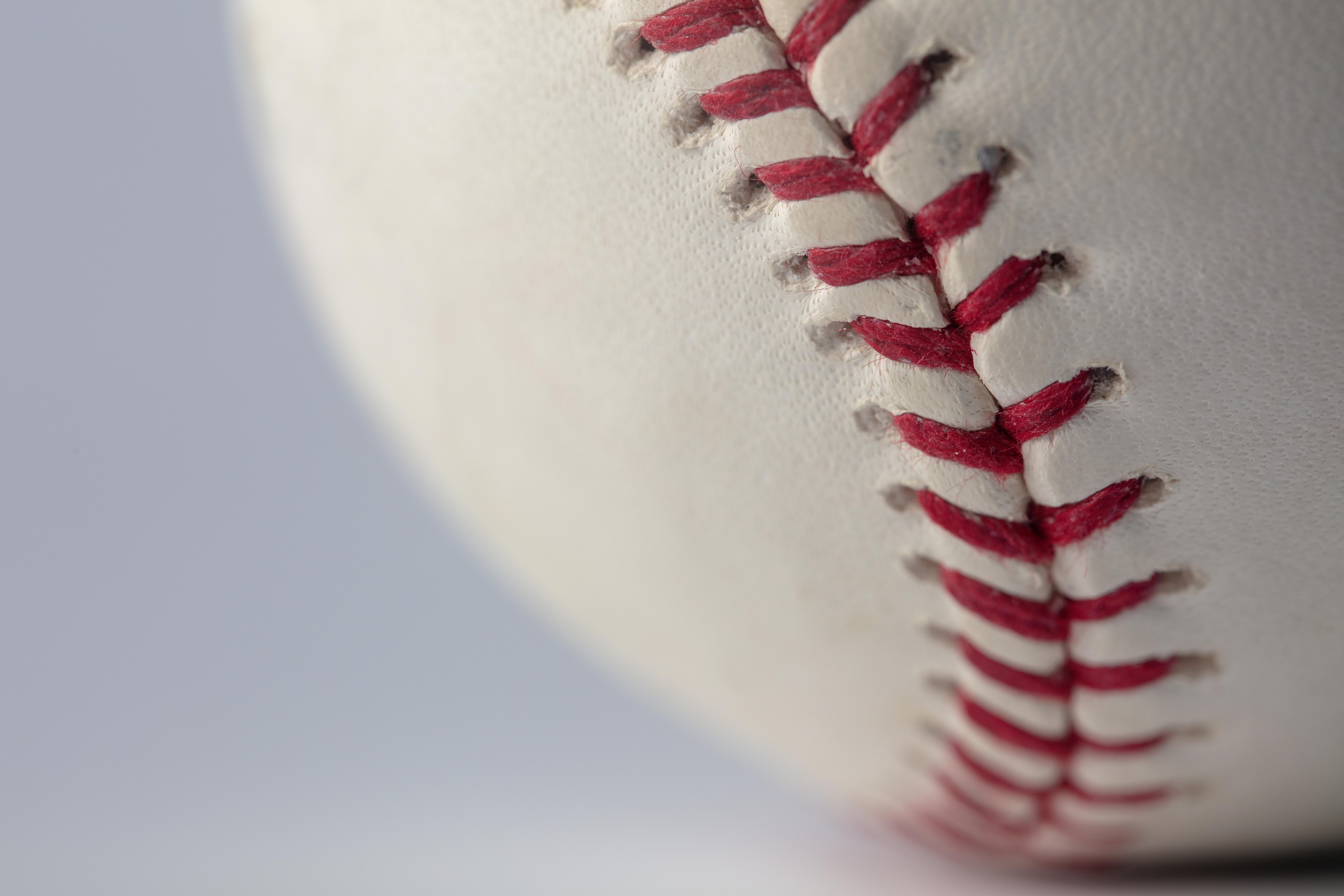 An official Rawlings Major League Baseball for the 2021 Major League Baseball season.