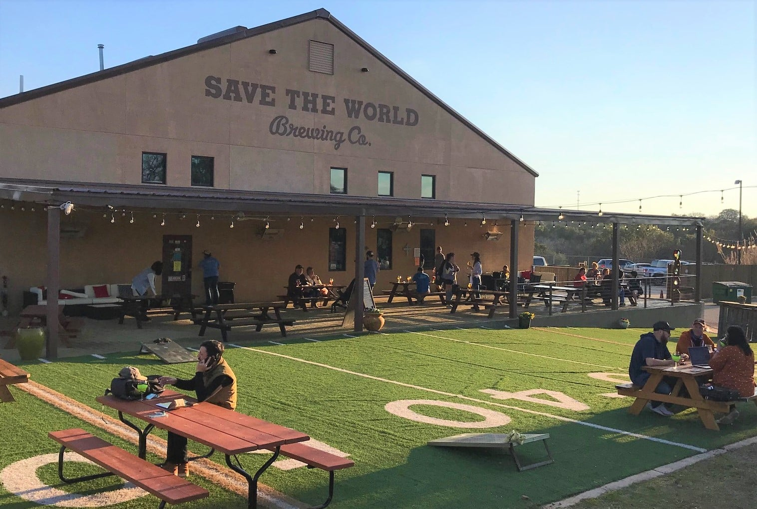 Save the World Brewing Co.