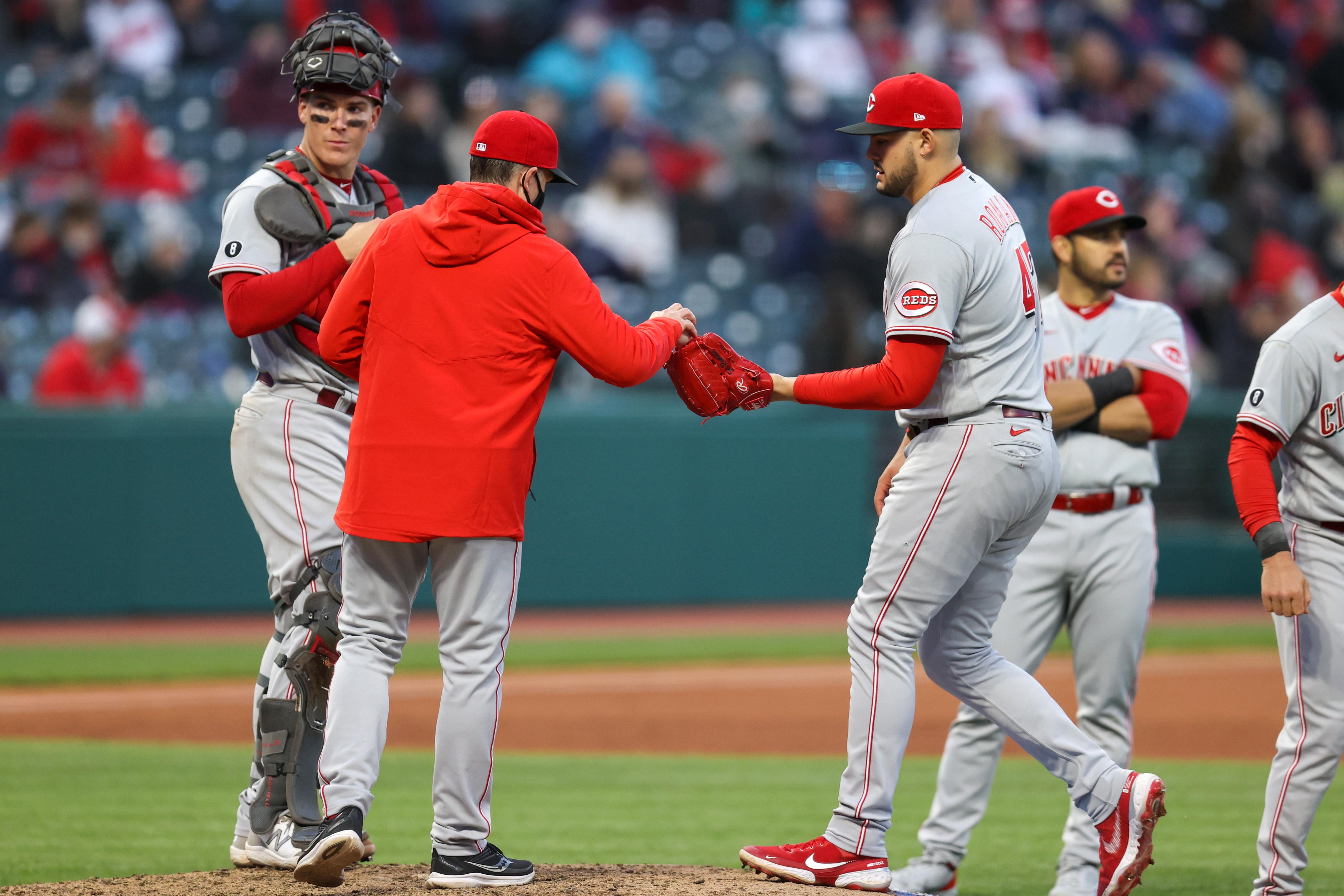 MLB: MAY 08 Reds at Indians