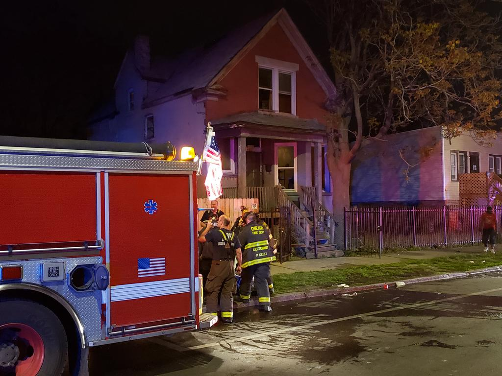 A person was killed and another injured in a house fire May 14, 2021 in West Garfield Park.