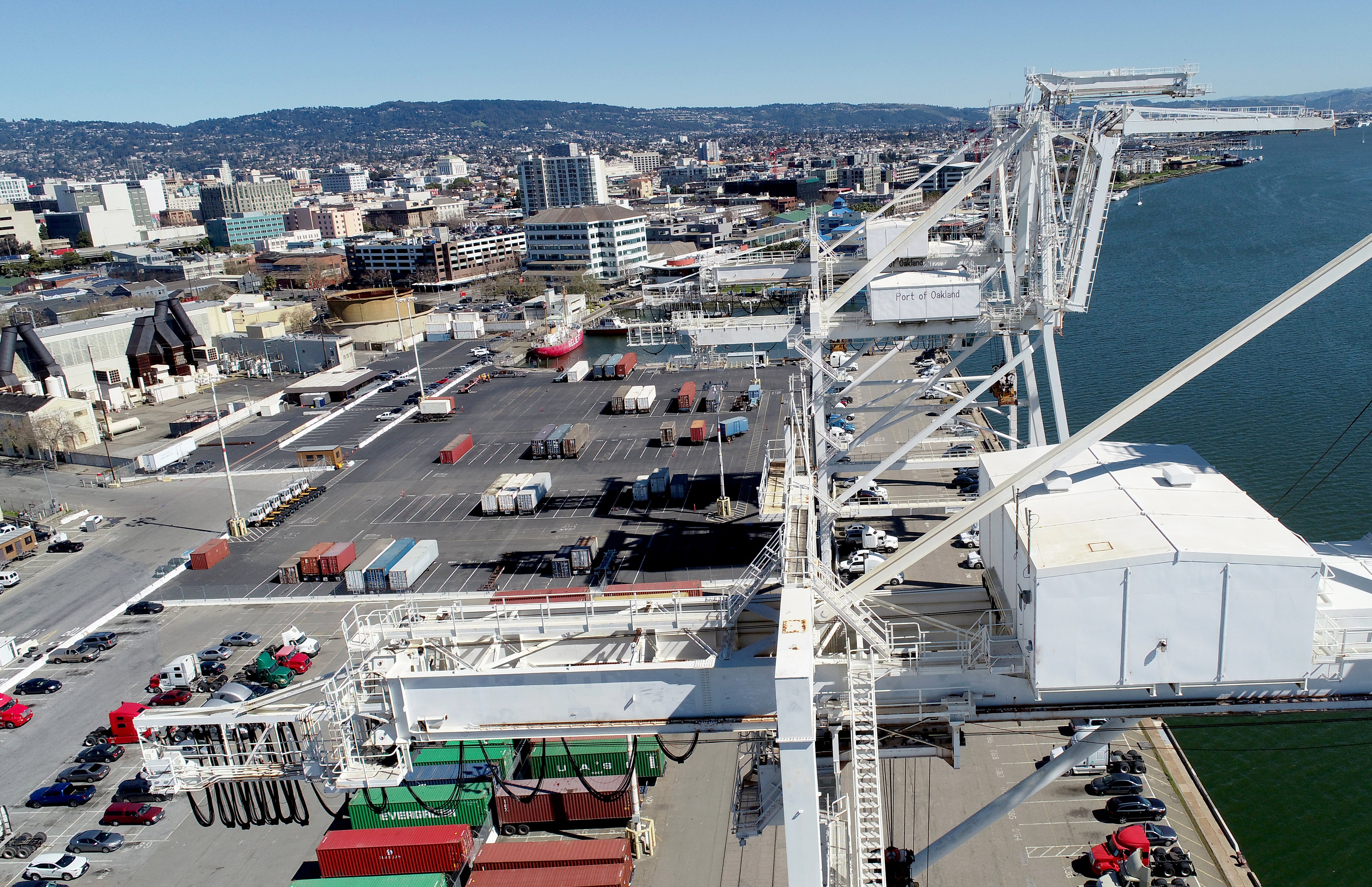 Port of Oakland's Howard Terminal